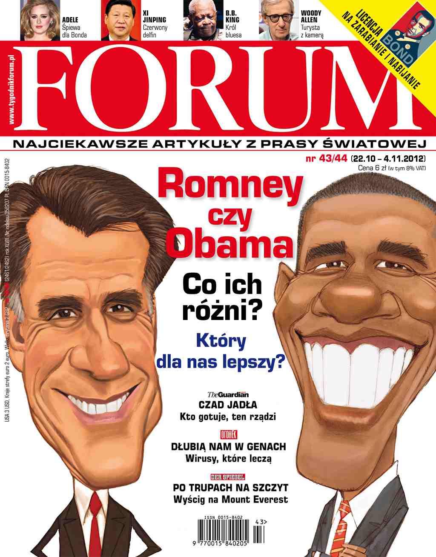 Forum nr 43-44/2012 - Ebook (Książka PDF) do pobrania w formacie PDF