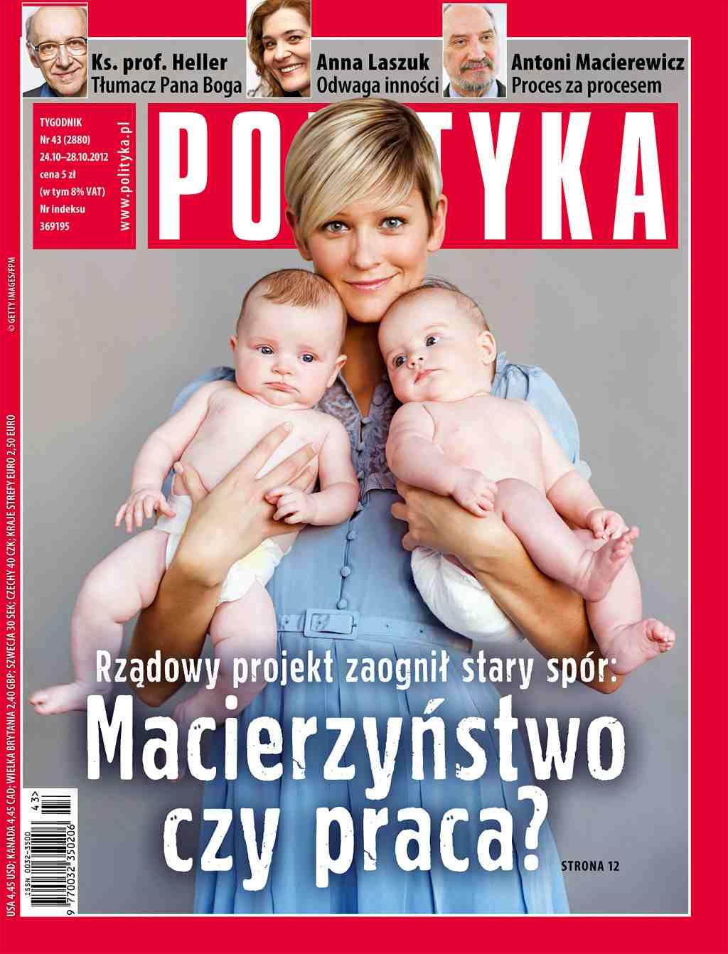 Polityka nr 43/2012 - Ebook (Książka PDF) do pobrania w formacie PDF