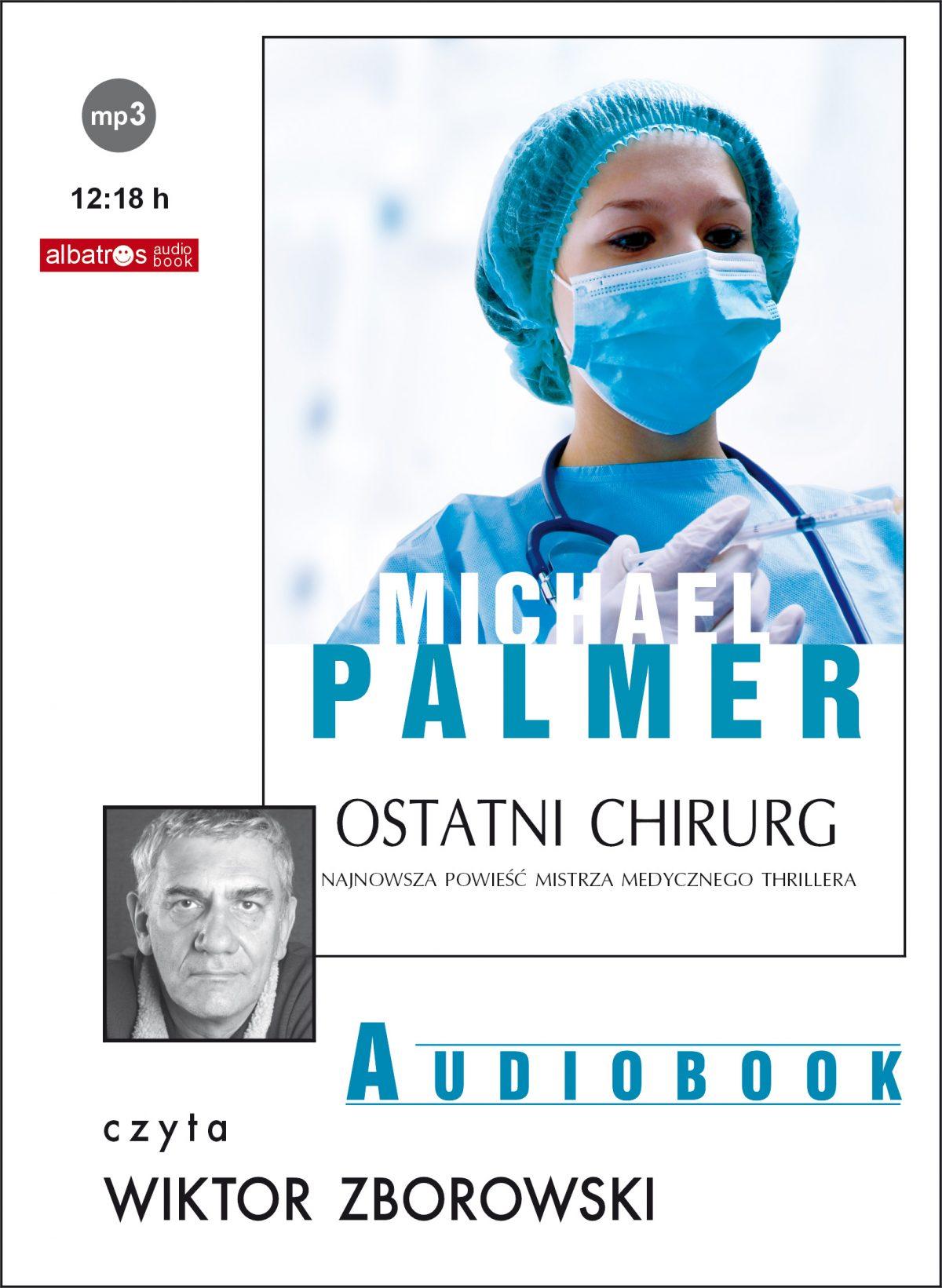Ostatni chirurg - Audiobook (Książka audio MP3) do pobrania w całości w archiwum ZIP