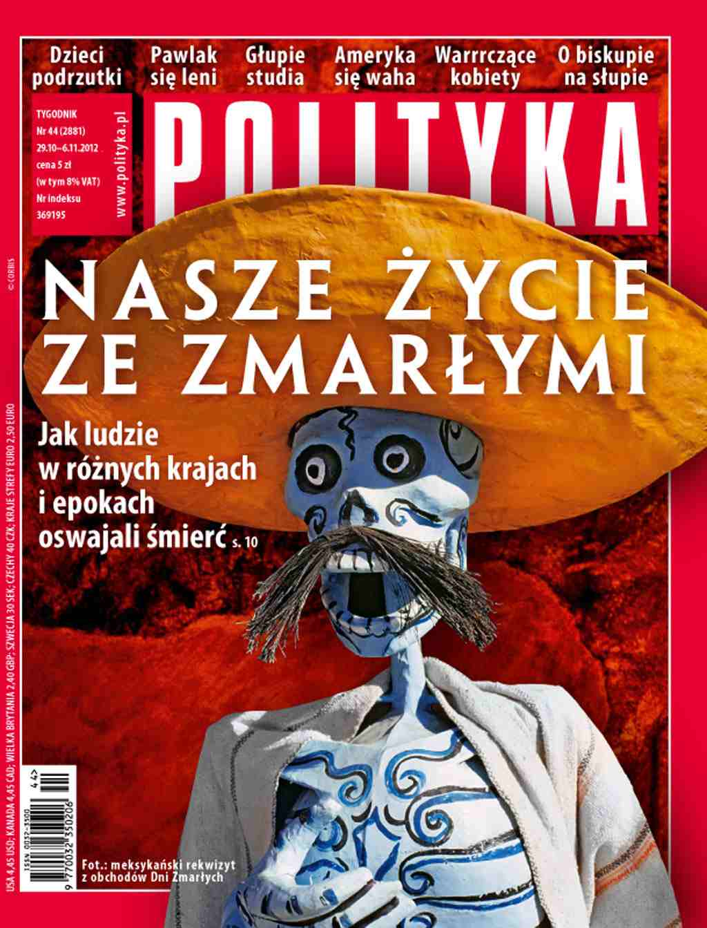 Polityka nr 44/2012 - Ebook (Książka PDF) do pobrania w formacie PDF