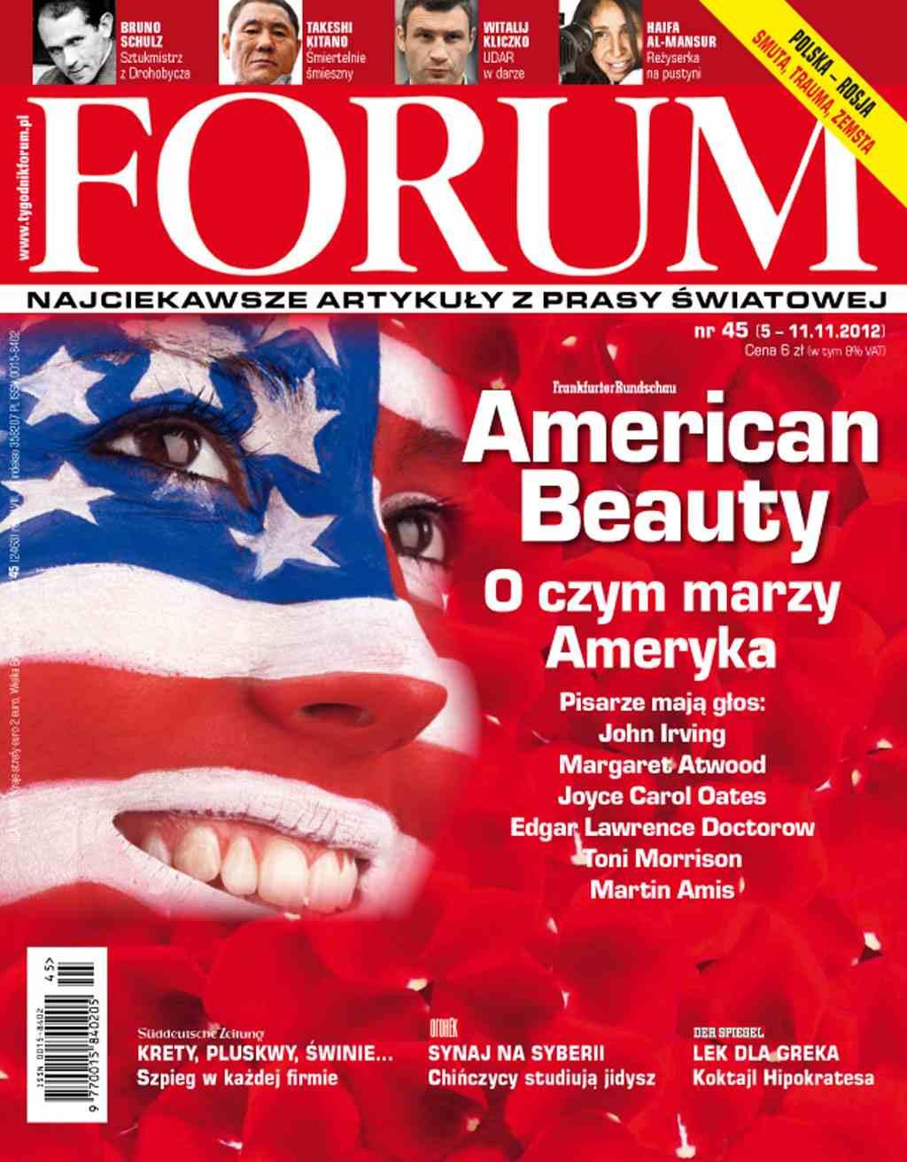 Forum nr 45/2012 - Ebook (Książka PDF) do pobrania w formacie PDF