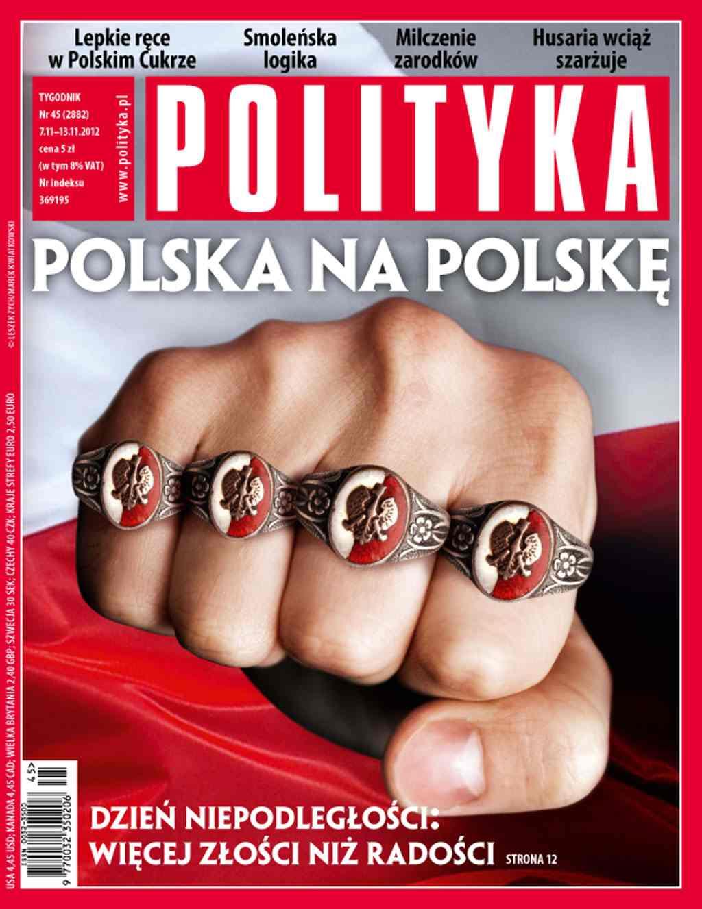 Polityka nr 45/2012 - Ebook (Książka PDF) do pobrania w formacie PDF