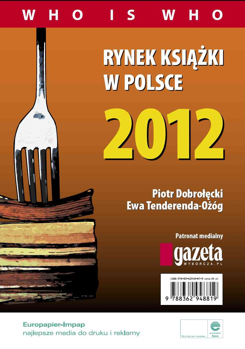 Rynek książki w Polsce 2012. Who is who - Ebook (Książka PDF) do pobrania w formacie PDF