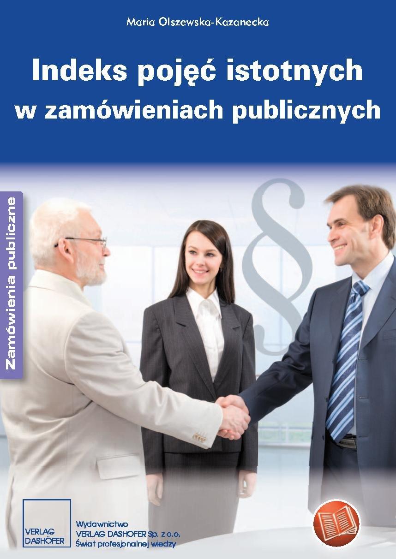 Indeks pojęć istotnych w zamówieniach publicznych - Ebook (Książka PDF) do pobrania w formacie PDF