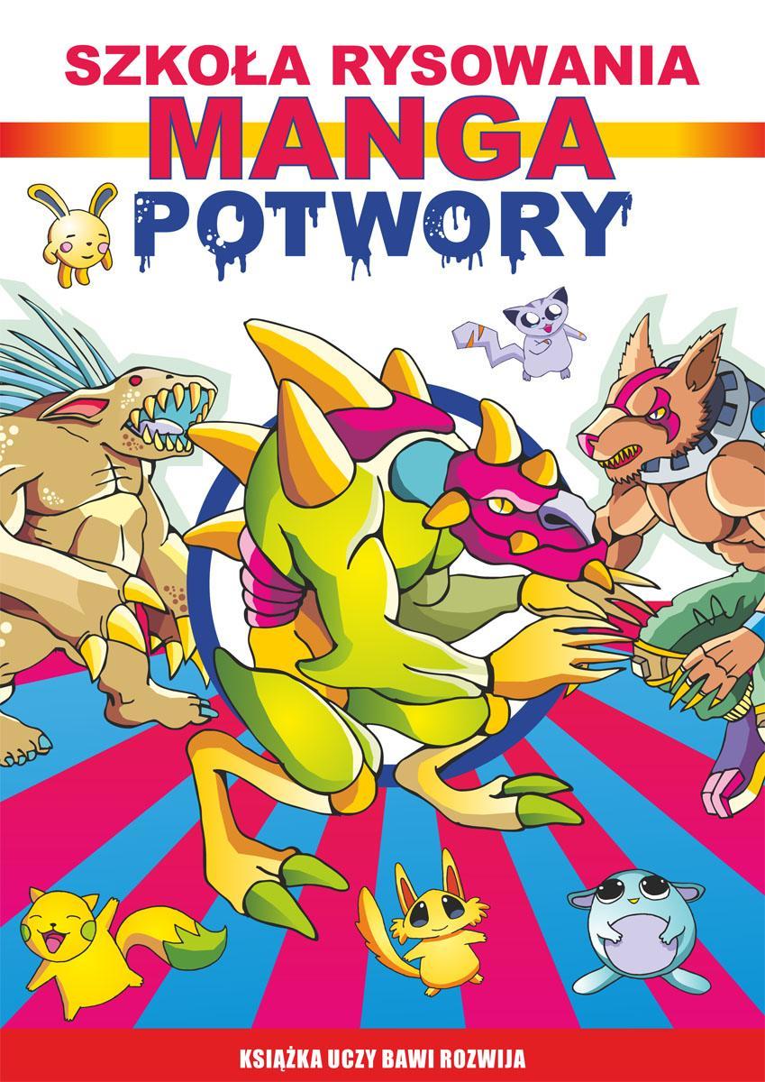 Szkoła rysowania. Manga. Potwory - Ebook (Książka PDF) do pobrania w formacie PDF