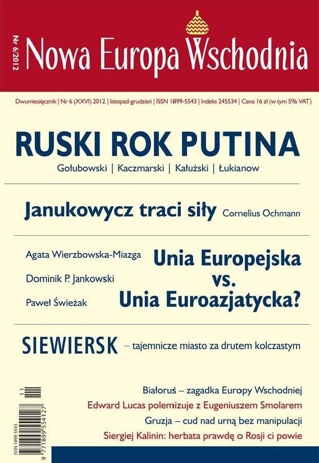 Nowa Europa Wschodnia 6/2012 - Ebook (Książka EPUB) do pobrania w formacie EPUB