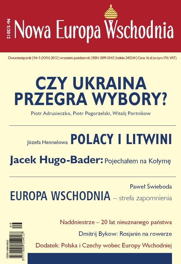 Nowa Europa Wschodnia 5/2012 - Ebook (Książka EPUB) do pobrania w formacie EPUB