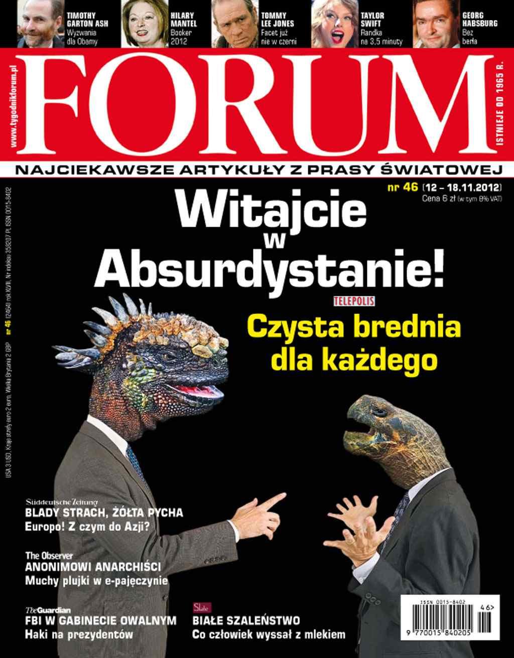 Forum nr 46/2012 - Ebook (Książka PDF) do pobrania w formacie PDF