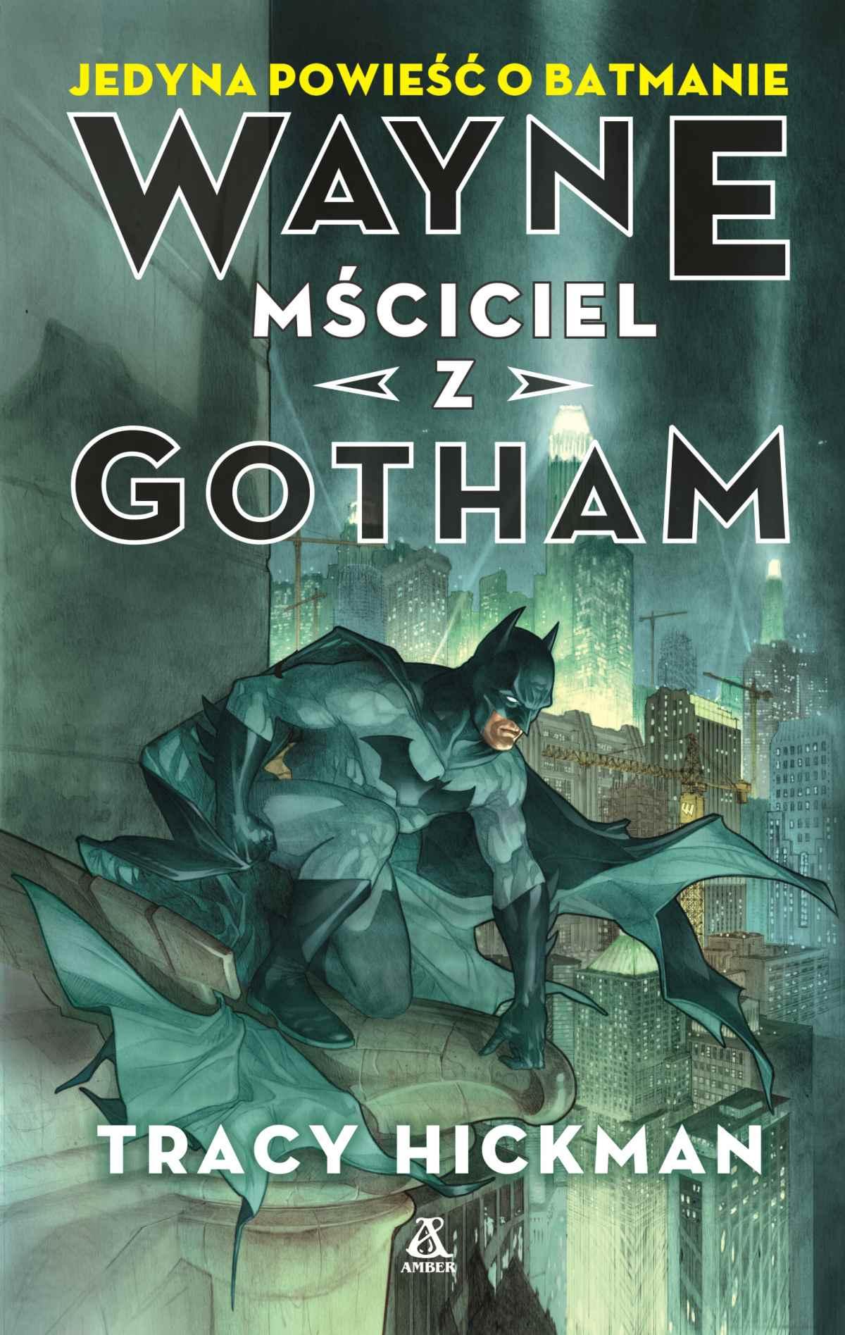 Wayne mściciel z Gotham - Ebook (Książka EPUB) do pobrania w formacie EPUB
