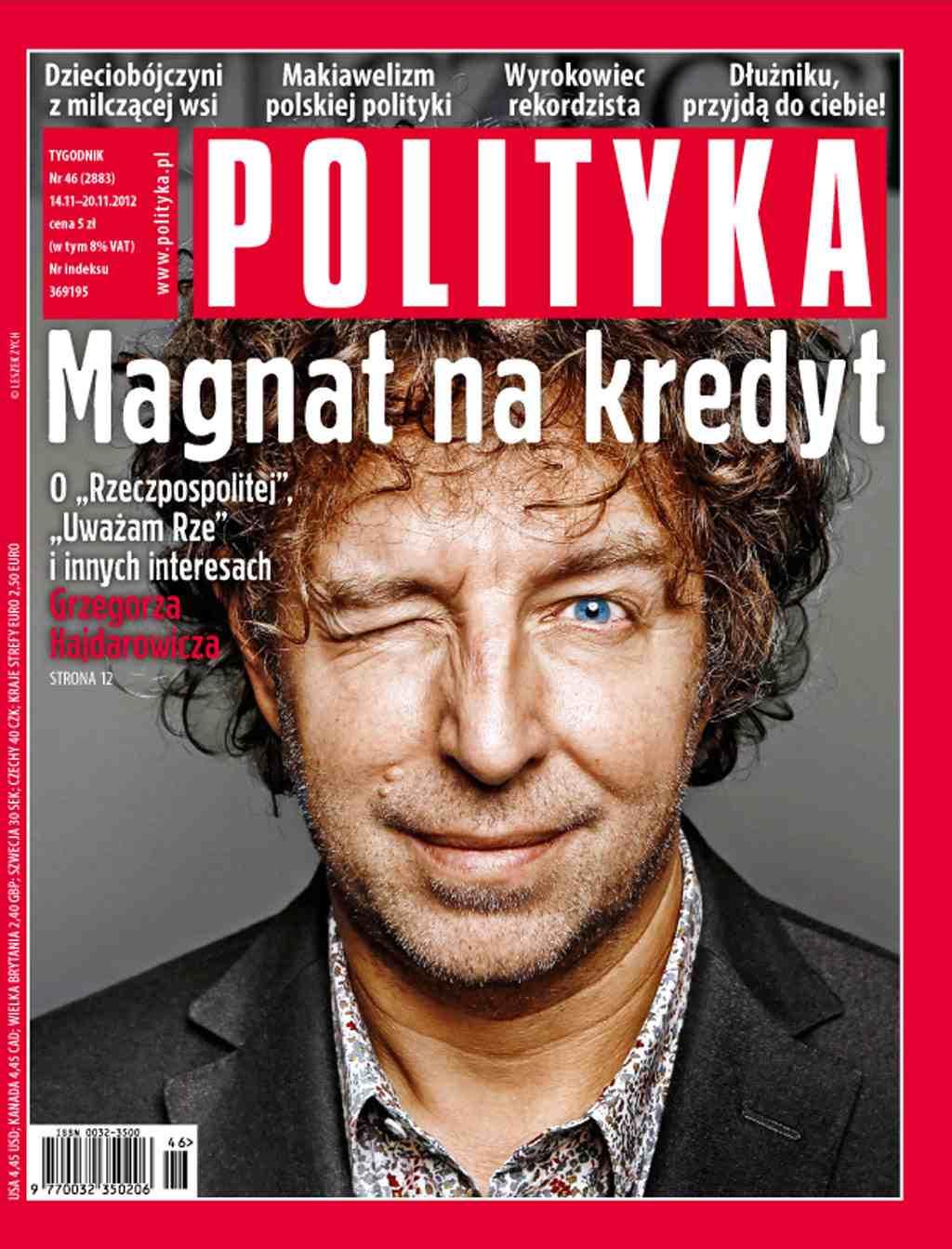 Polityka nr 46/2012 - Ebook (Książka PDF) do pobrania w formacie PDF