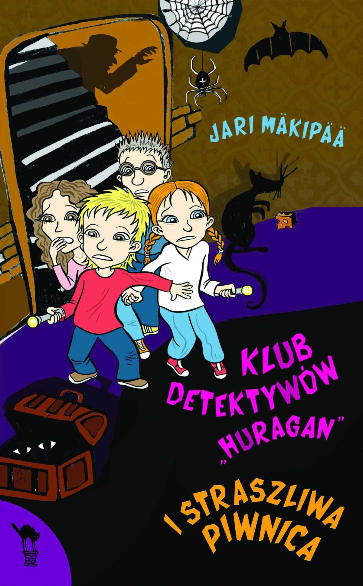 """Klub detektywów """"Huragan"""" i straszliwa piwnica - Ebook (Książka na Kindle) do pobrania w formacie MOBI"""