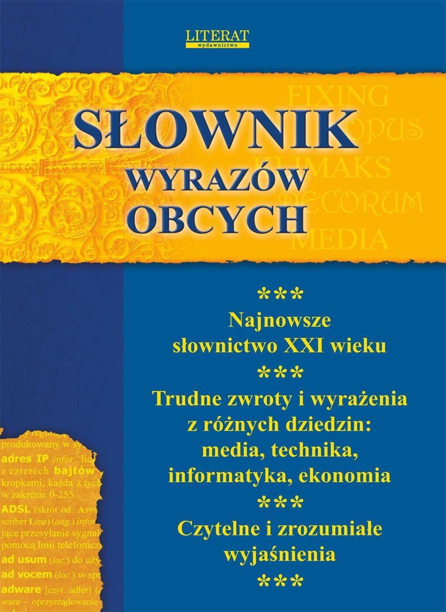 Słownik wyrazów obcych - Ebook (Książka PDF) do pobrania w formacie PDF