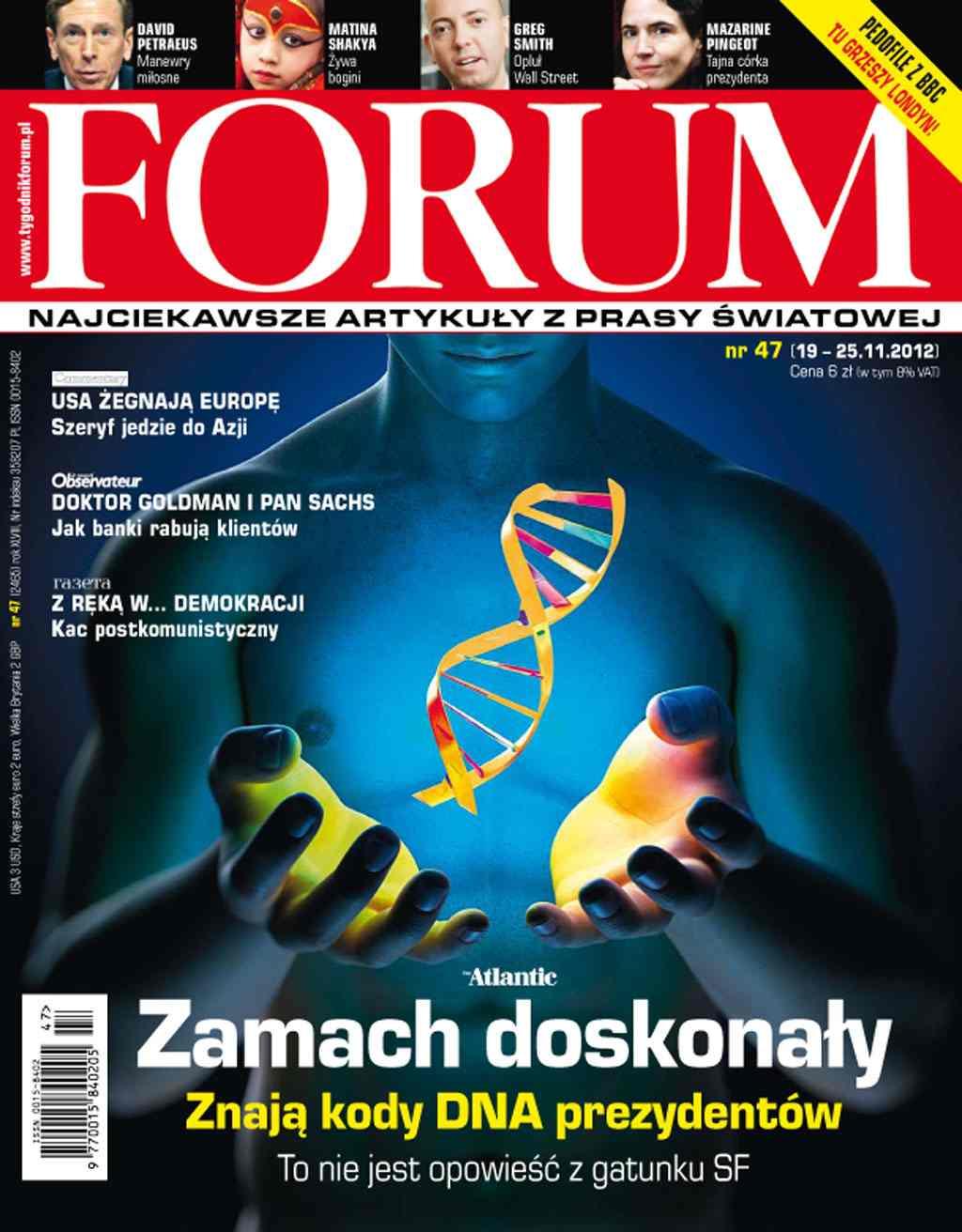 Forum nr 47/2012 - Ebook (Książka PDF) do pobrania w formacie PDF