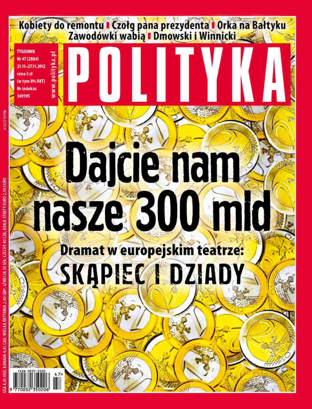 Polityka nr 47/2012 - Ebook (Książka PDF) do pobrania w formacie PDF