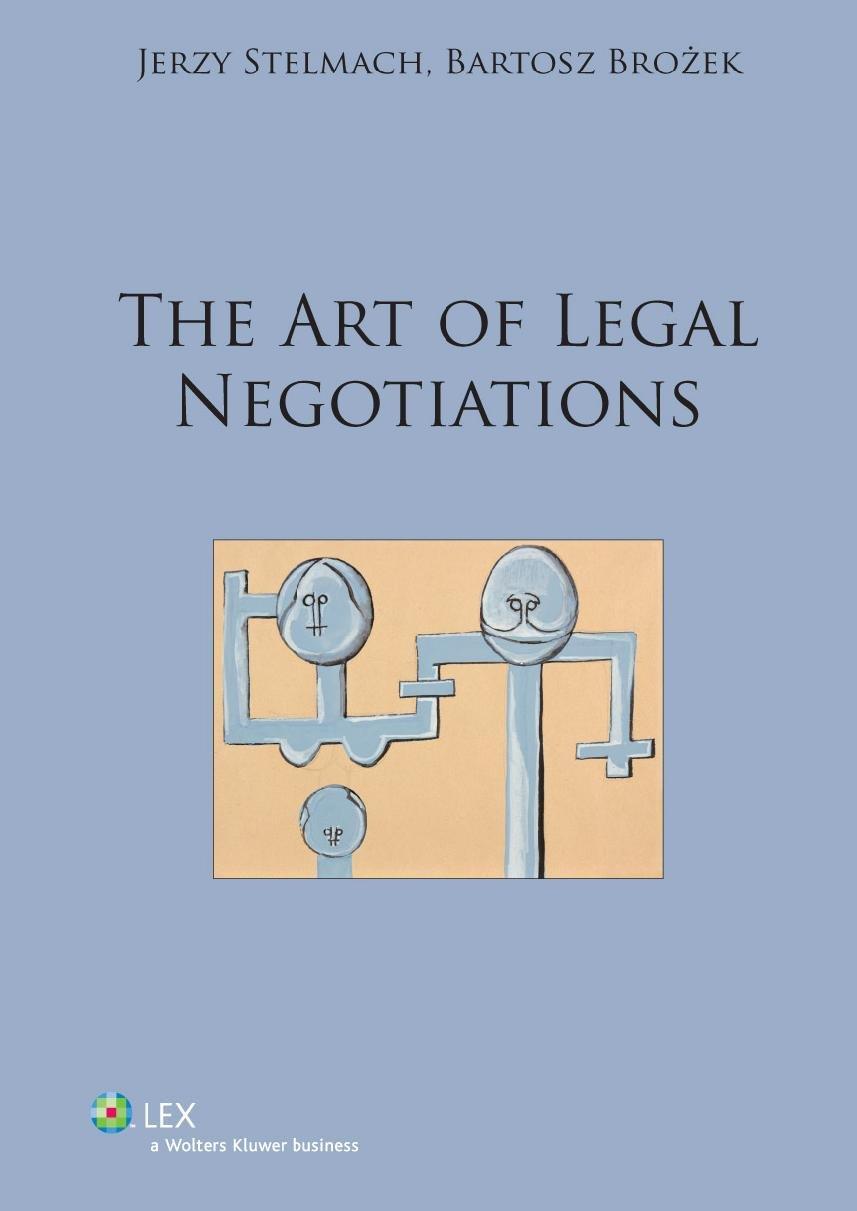 The art of legal negotiations - Ebook (Książka PDF) do pobrania w formacie PDF