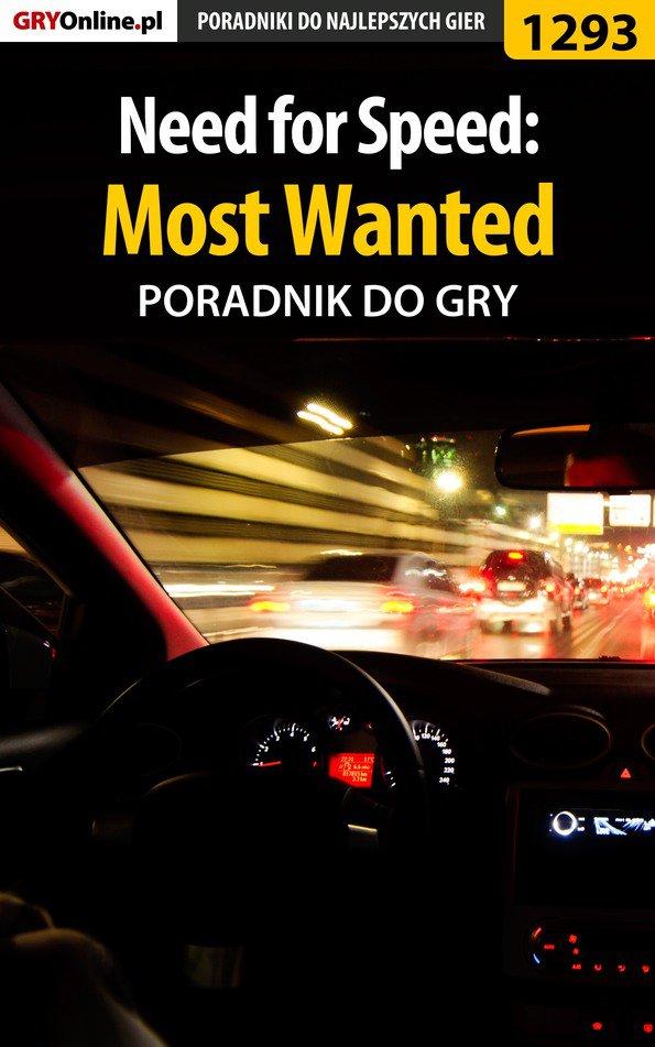 Need for Speed: Most Wanted - poradnik do gry - Ebook (Książka PDF) do pobrania w formacie PDF