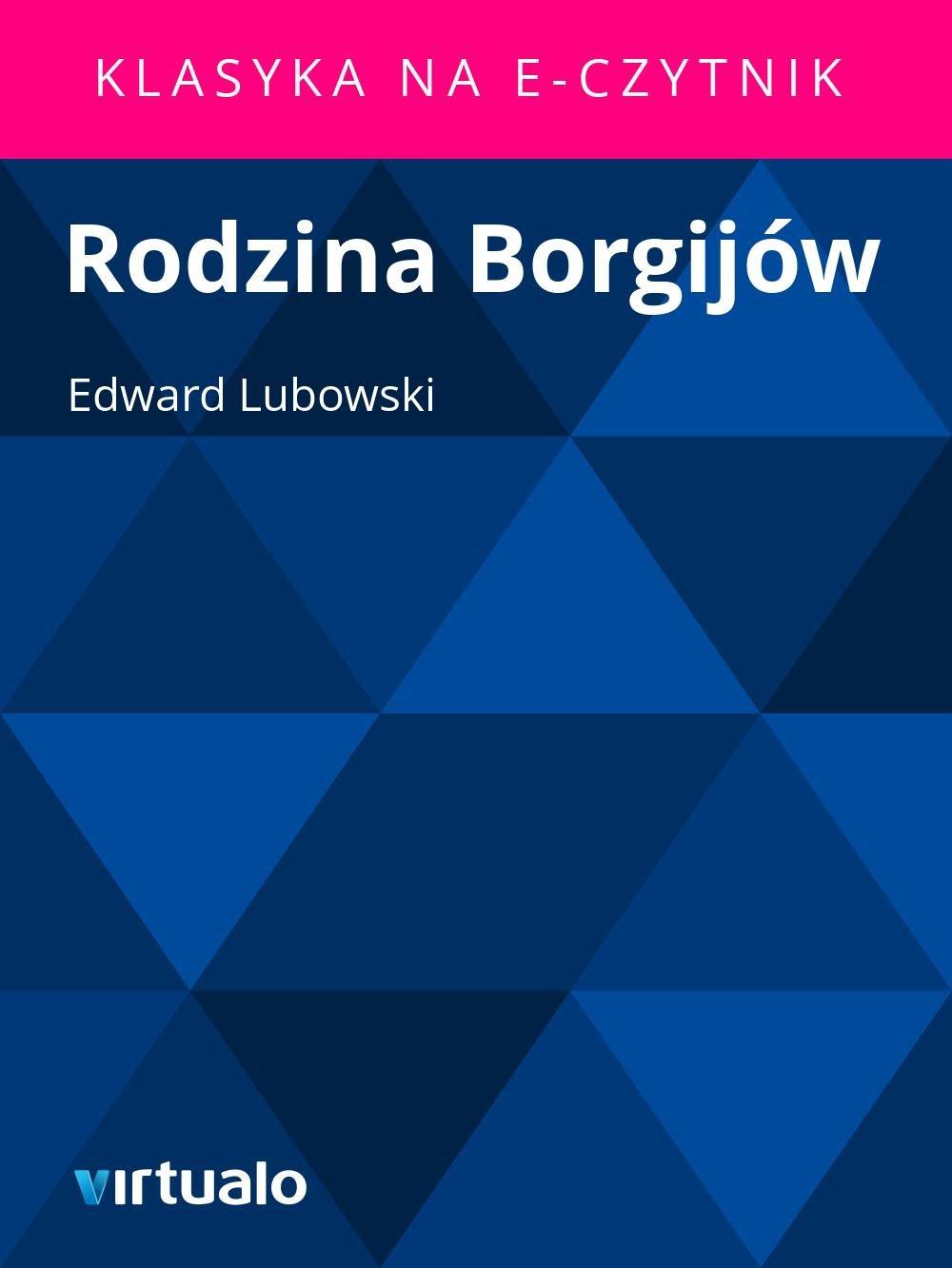 Rodzina Borgijów - Ebook (Książka na Kindle) do pobrania w formacie MOBI