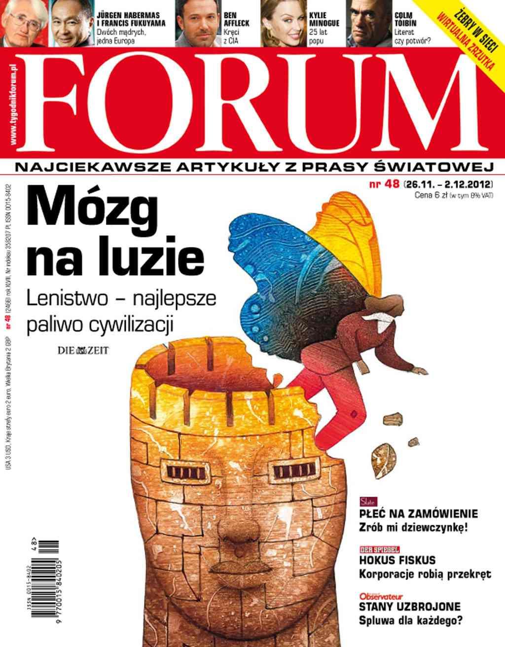 Forum nr 48/2012 - Ebook (Książka PDF) do pobrania w formacie PDF