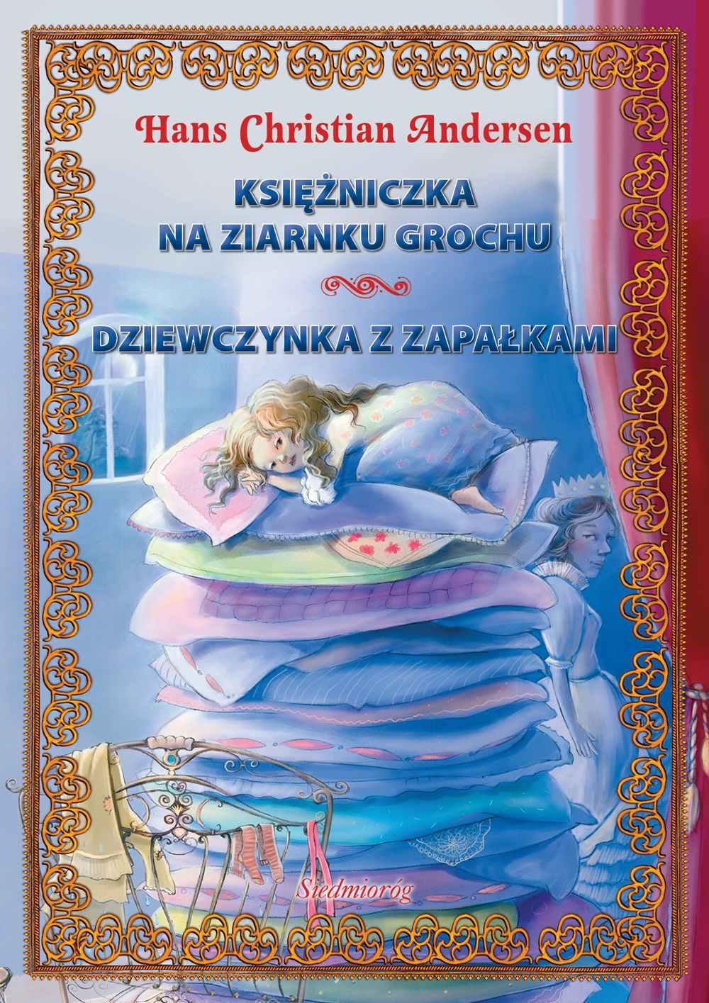 Księżniczka na ziarnku grochu. Dziewczynka z zapałkami - Ebook (Książka EPUB) do pobrania w formacie EPUB