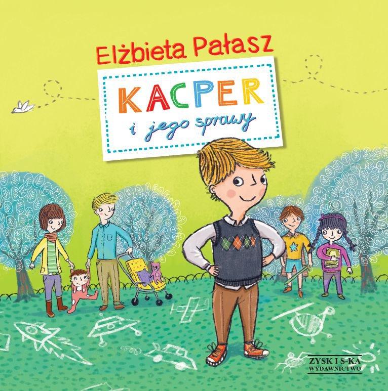 Kacper i jego sprawy - Ebook (Książka EPUB) do pobrania w formacie EPUB