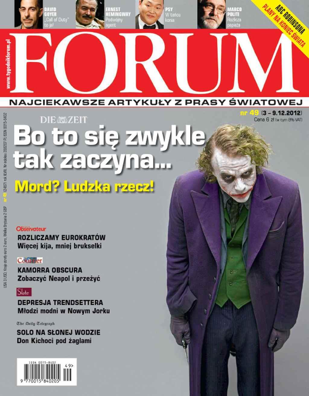 Forum nr 49/2012 - Ebook (Książka PDF) do pobrania w formacie PDF
