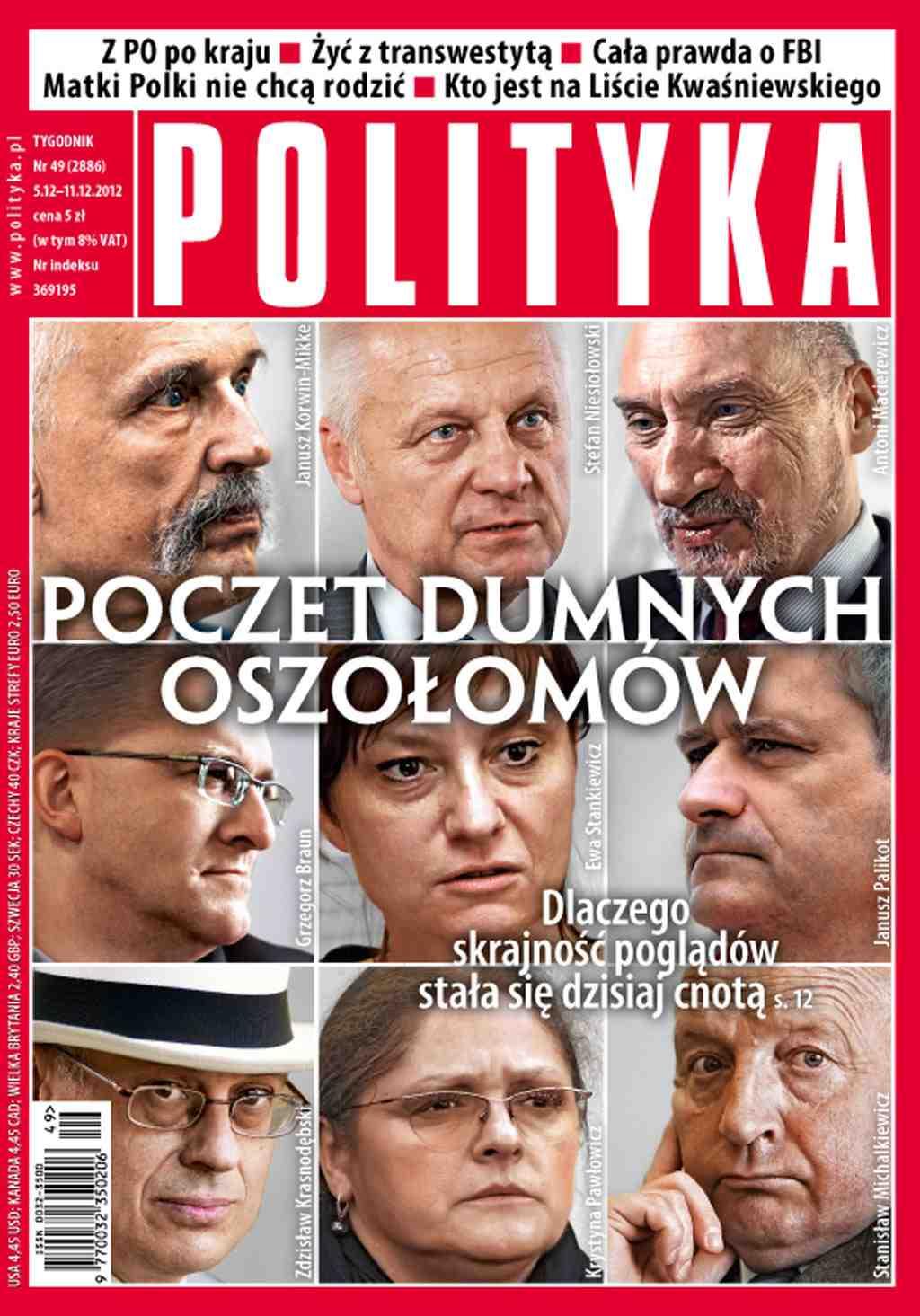 Polityka nr 49/2012 - Ebook (Książka PDF) do pobrania w formacie PDF