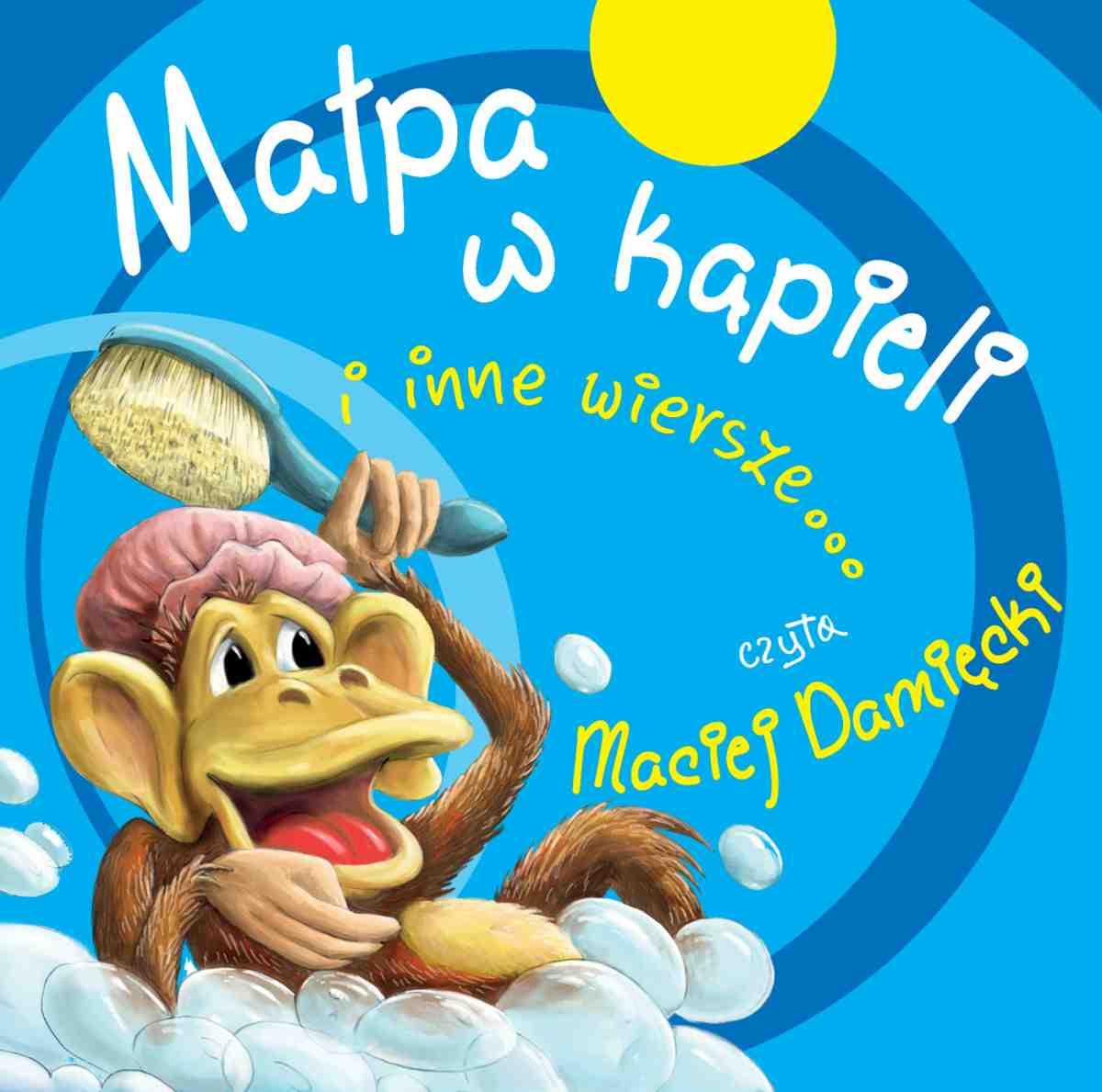 Małpa w kąpieli i inne wiersze... - Audiobook (Książka audio MP3) do pobrania w całości w archiwum ZIP