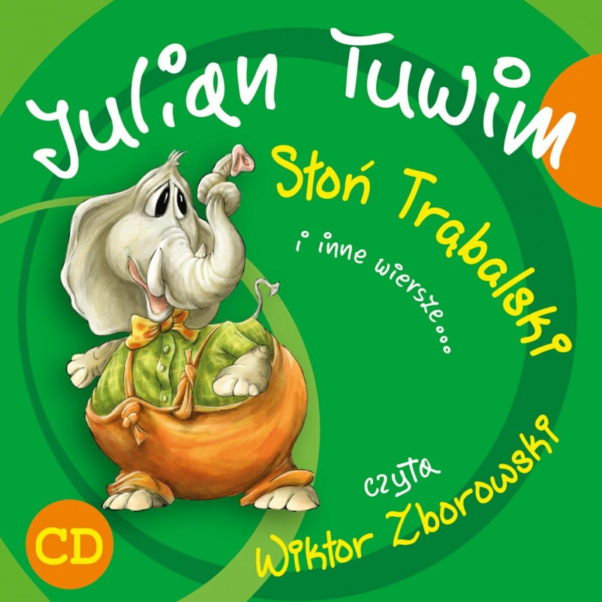 Słoń Trąbalski i inne wiersze... - Audiobook (Książka audio MP3) do pobrania w całości w archiwum ZIP