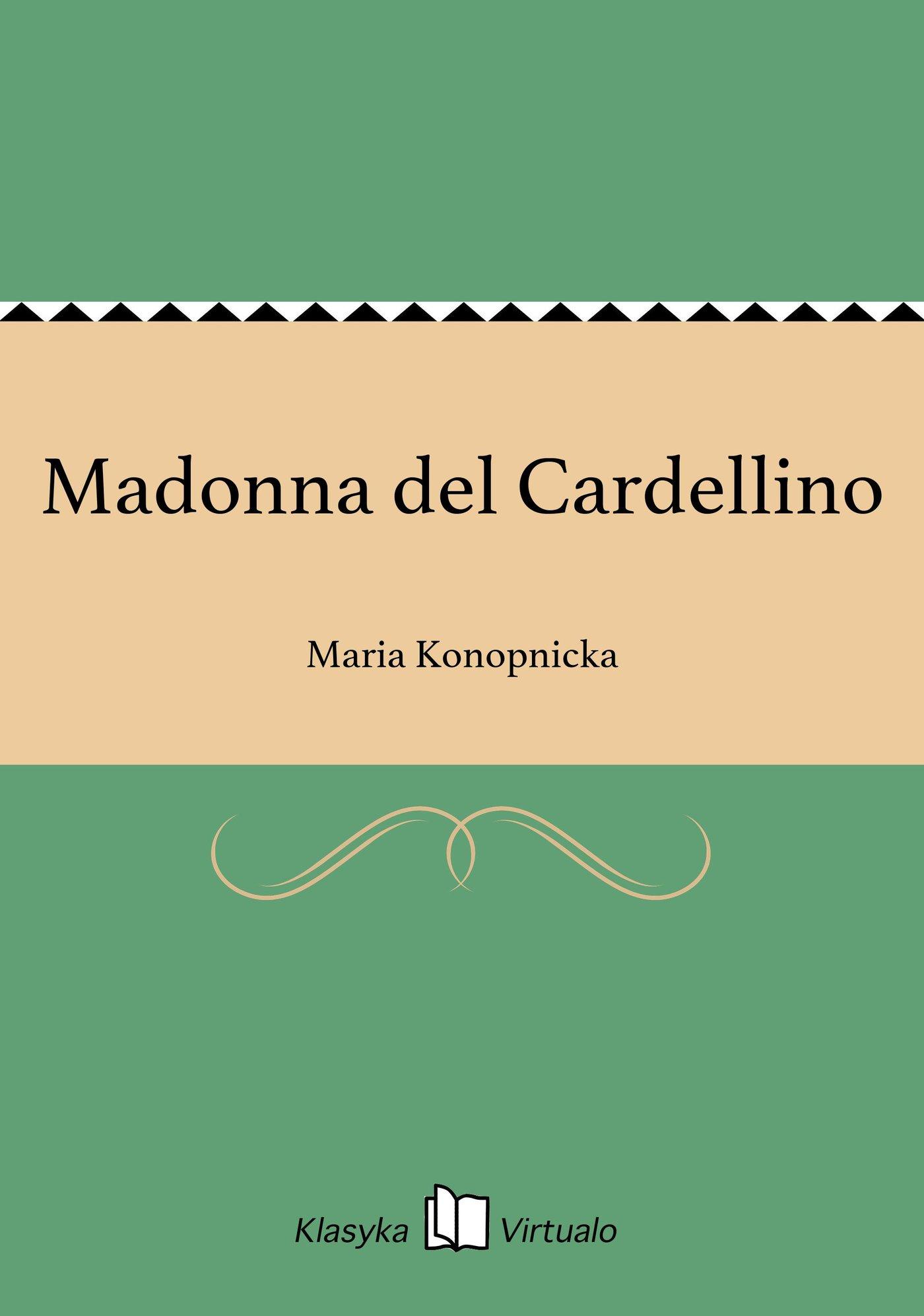 Madonna del Cardellino - Ebook (Książka na Kindle) do pobrania w formacie MOBI
