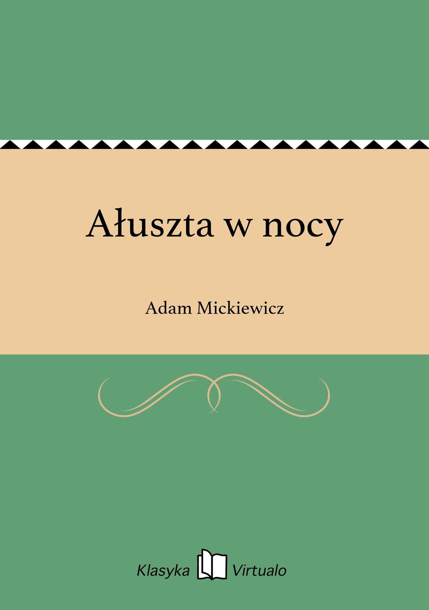Ałuszta w nocy - Ebook (Książka na Kindle) do pobrania w formacie MOBI