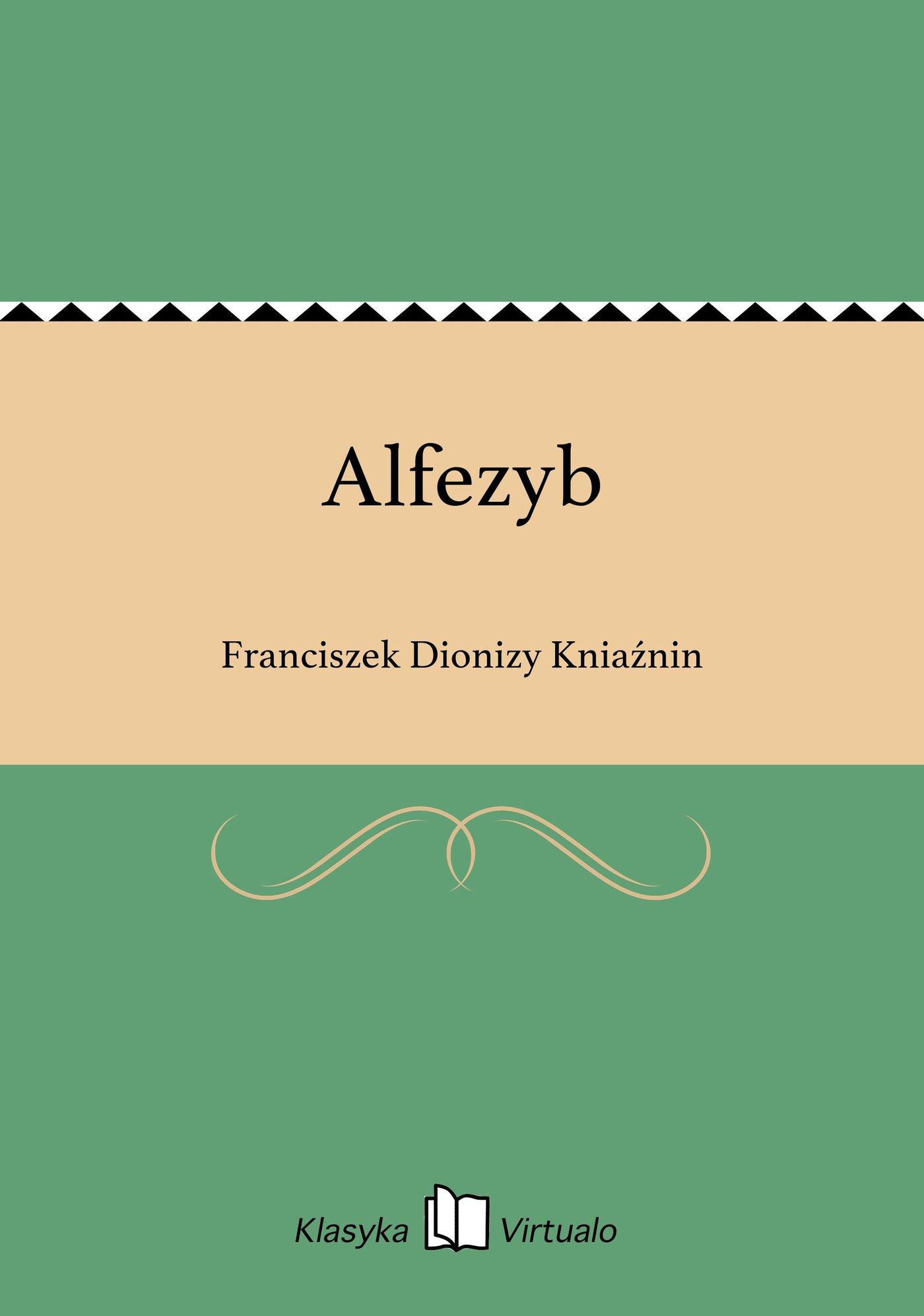 Alfezyb - Ebook (Książka na Kindle) do pobrania w formacie MOBI