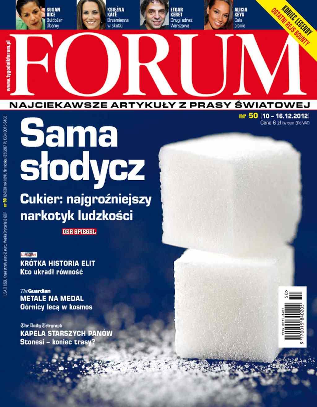 Forum nr 50/2012 - Ebook (Książka PDF) do pobrania w formacie PDF