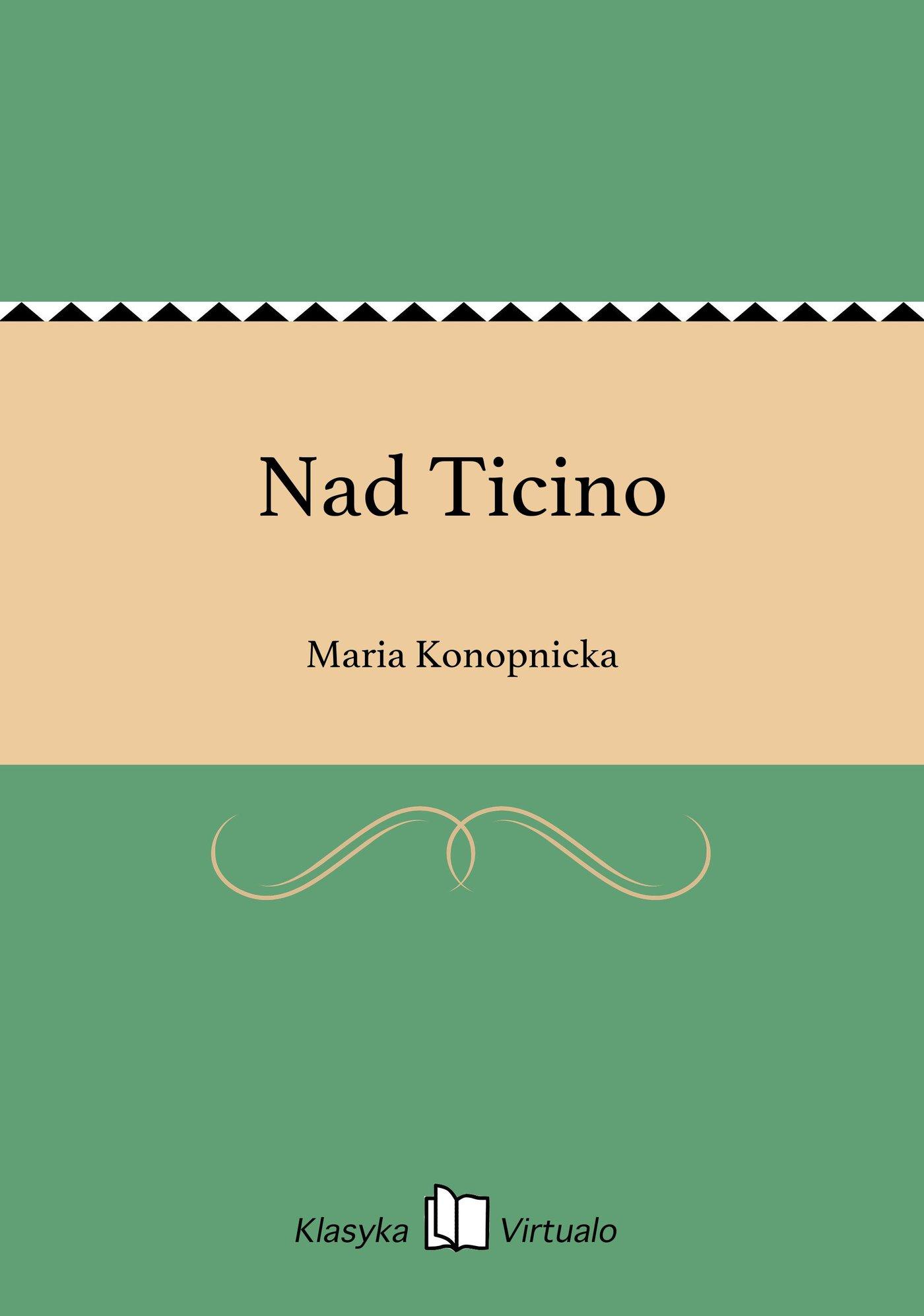 Nad Ticino - Ebook (Książka na Kindle) do pobrania w formacie MOBI