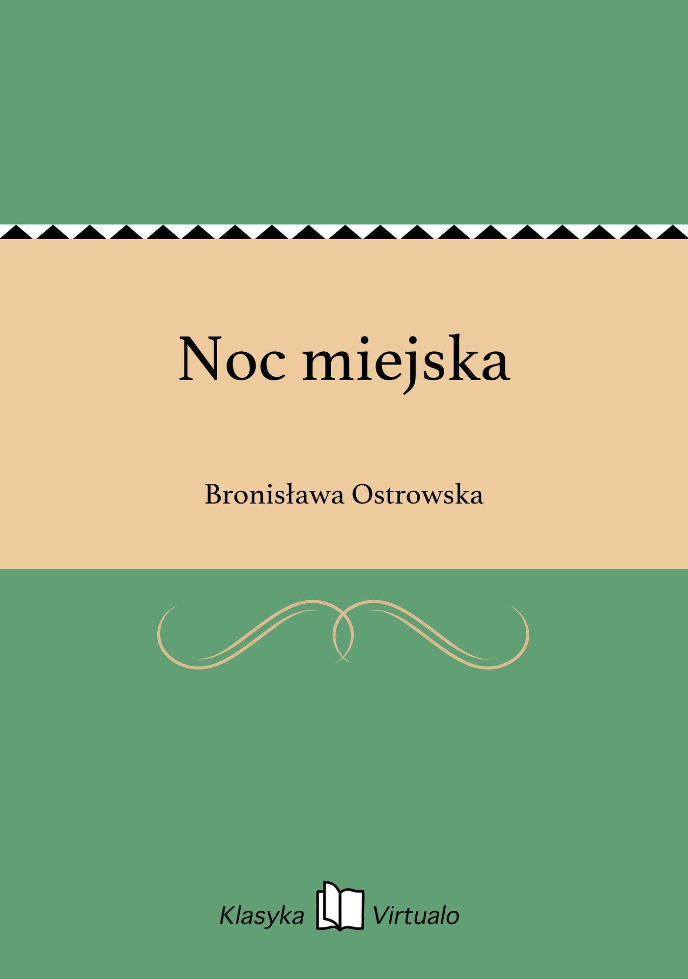 Noc miejska - Ebook (Książka na Kindle) do pobrania w formacie MOBI