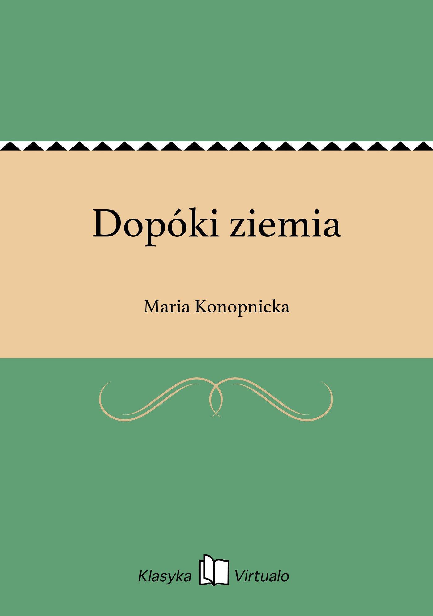 Dopóki ziemia - Ebook (Książka na Kindle) do pobrania w formacie MOBI