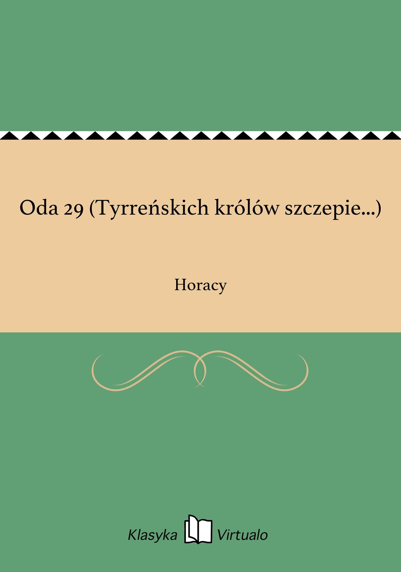 Oda 29 (Tyrreńskich królów szczepie...) - Ebook (Książka na Kindle) do pobrania w formacie MOBI