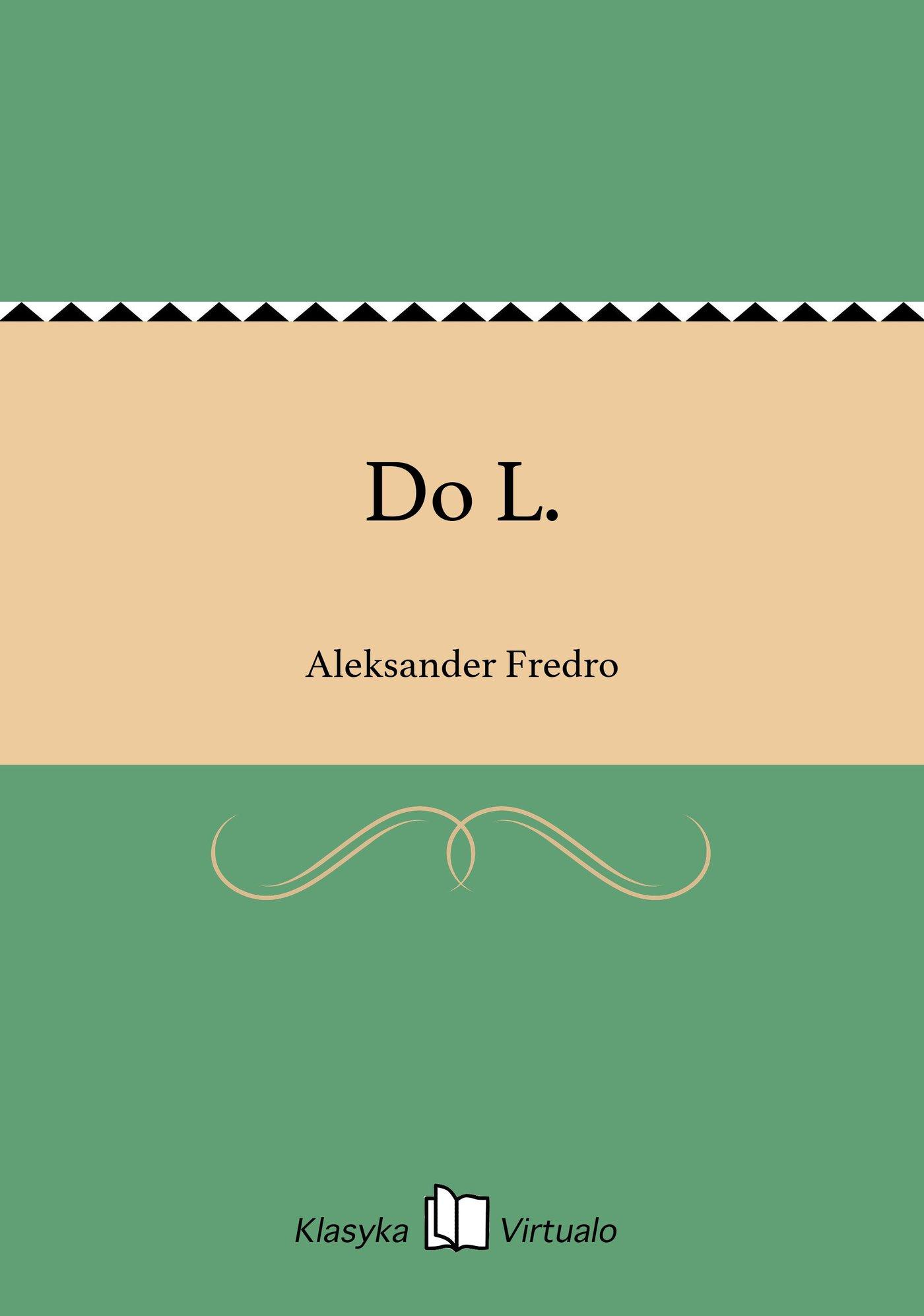 Do L. - Ebook (Książka na Kindle) do pobrania w formacie MOBI