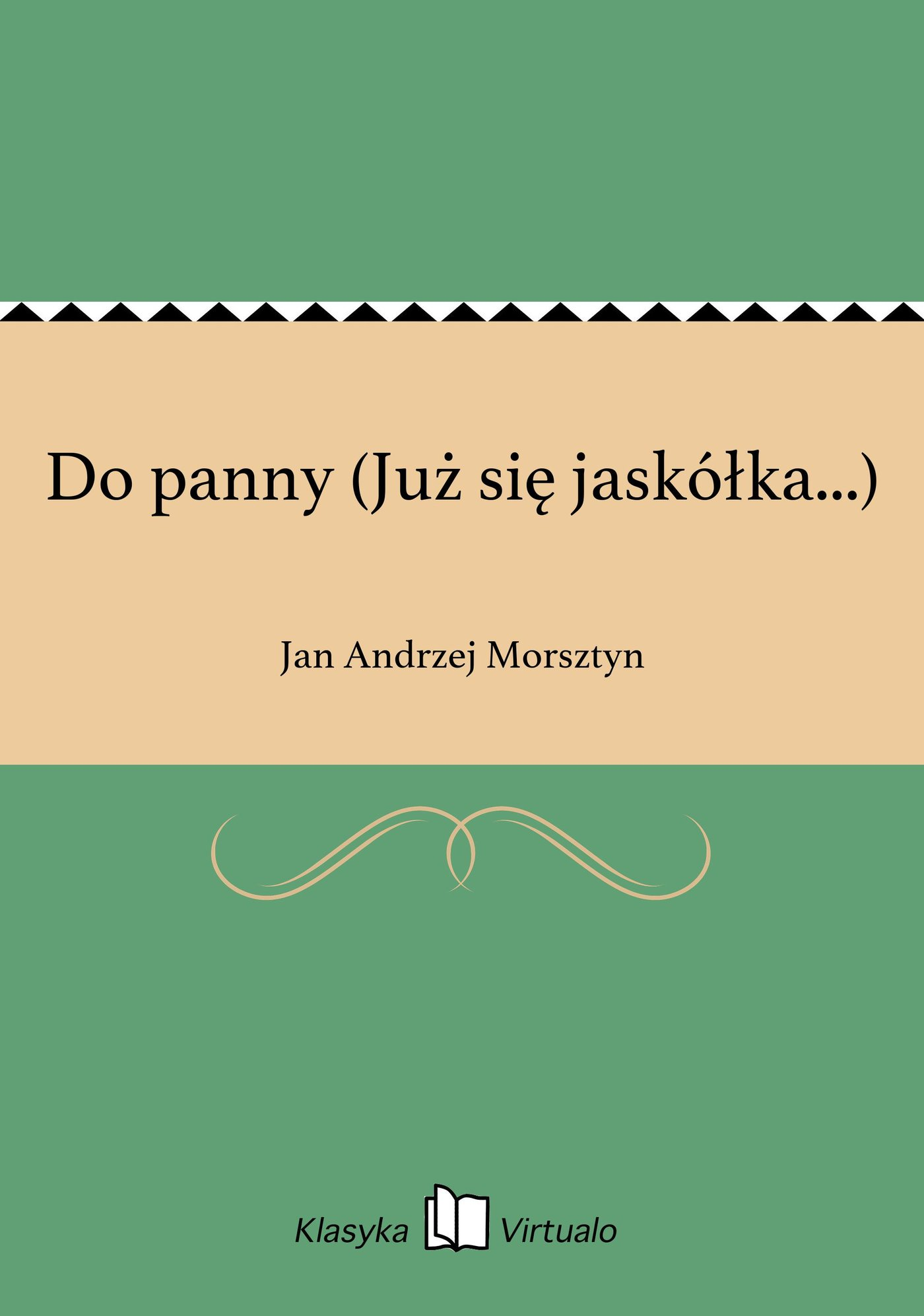 Do panny (Już się jaskółka...) - Ebook (Książka na Kindle) do pobrania w formacie MOBI