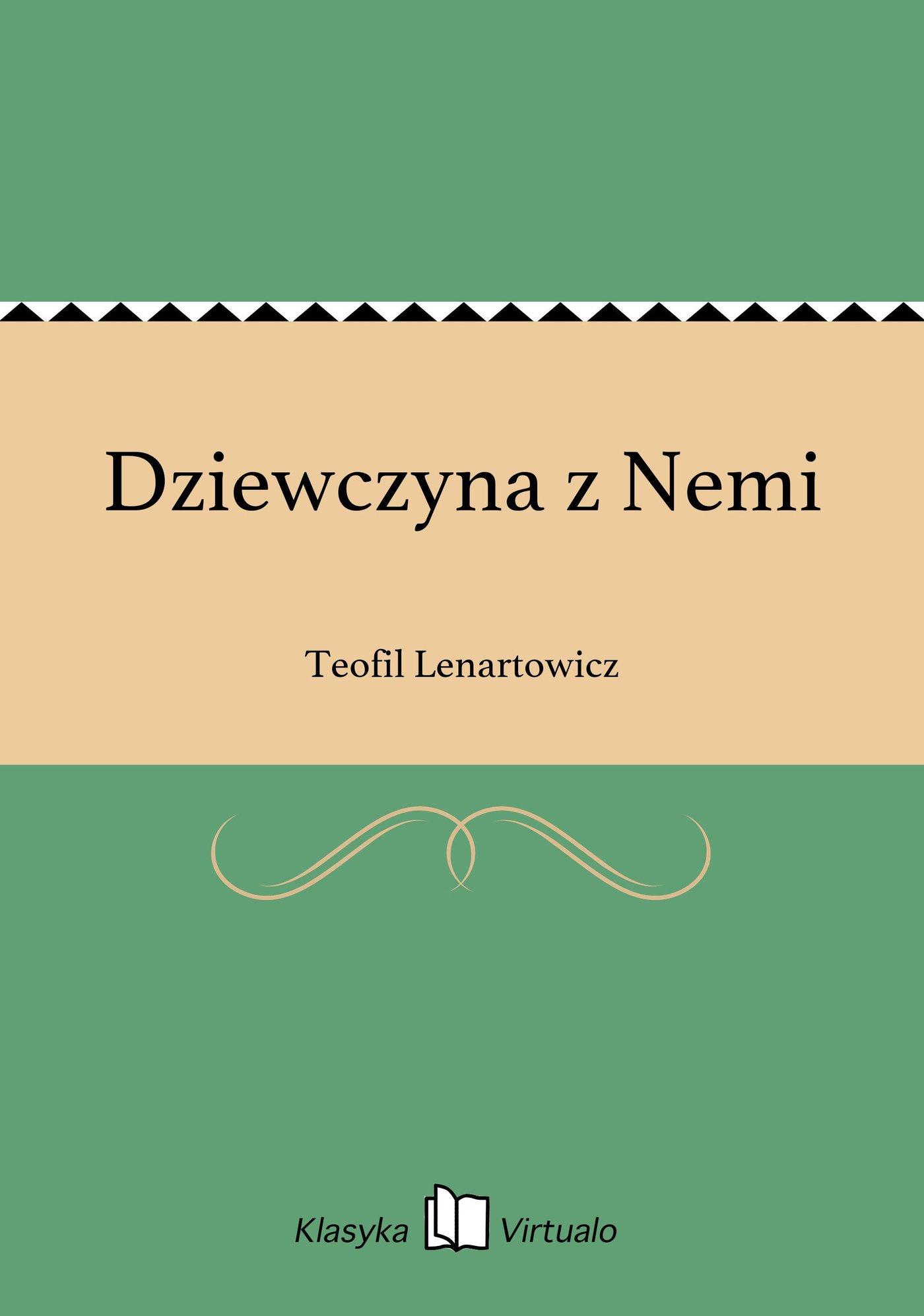 Dziewczyna z Nemi - Ebook (Książka na Kindle) do pobrania w formacie MOBI