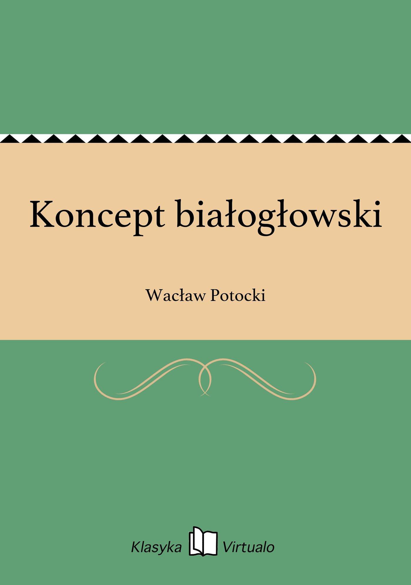 Koncept białogłowski - Ebook (Książka na Kindle) do pobrania w formacie MOBI