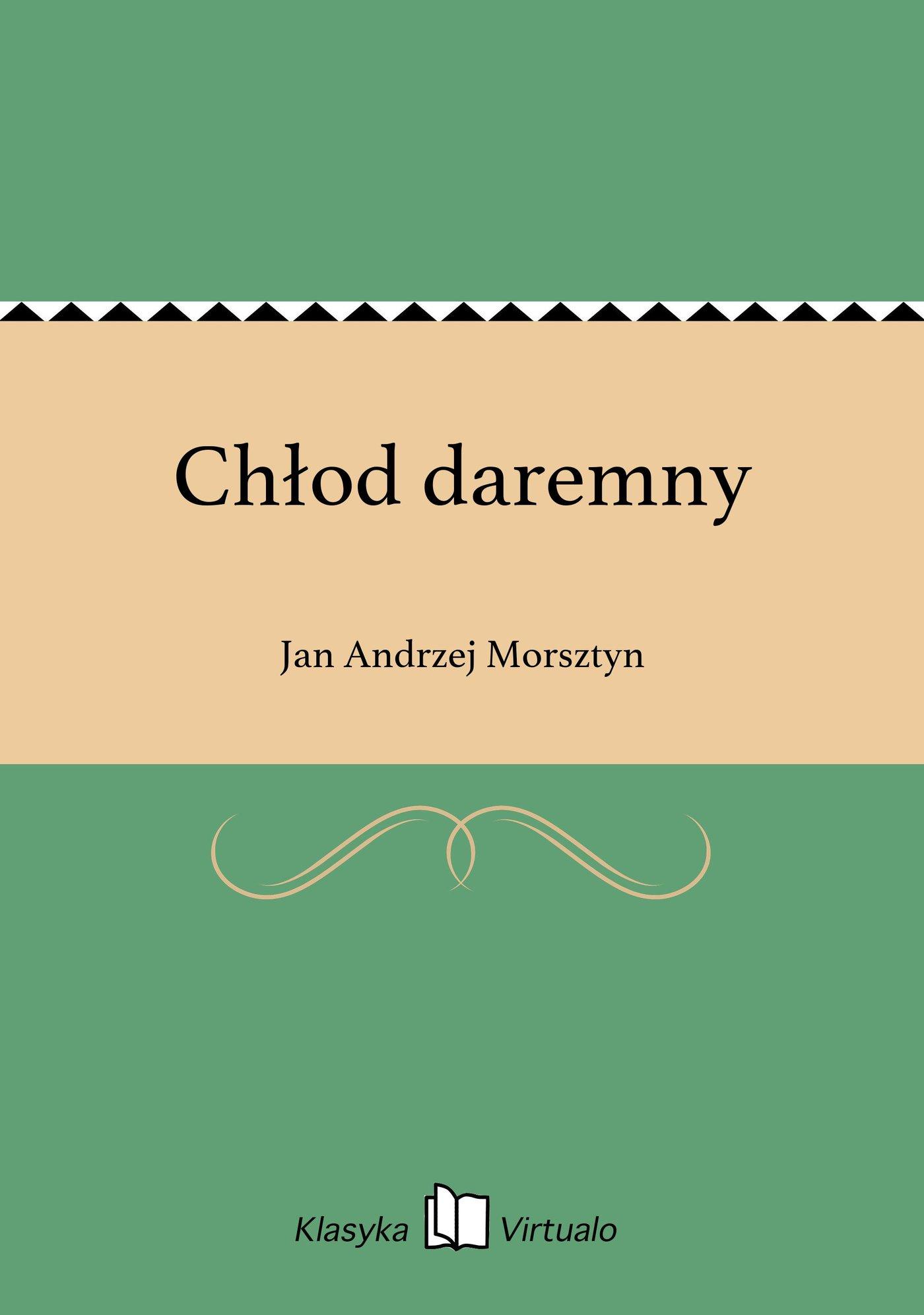 Chłod daremny - Ebook (Książka na Kindle) do pobrania w formacie MOBI