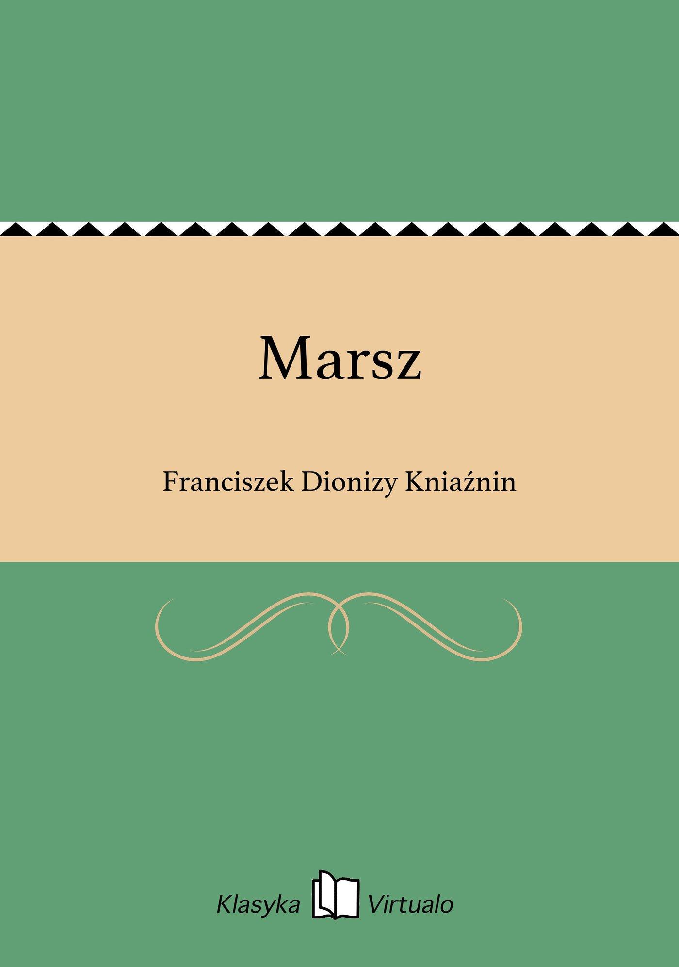 Marsz - Ebook (Książka na Kindle) do pobrania w formacie MOBI