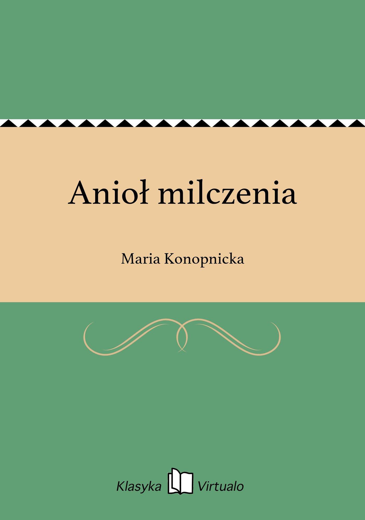 Anioł milczenia - Ebook (Książka na Kindle) do pobrania w formacie MOBI