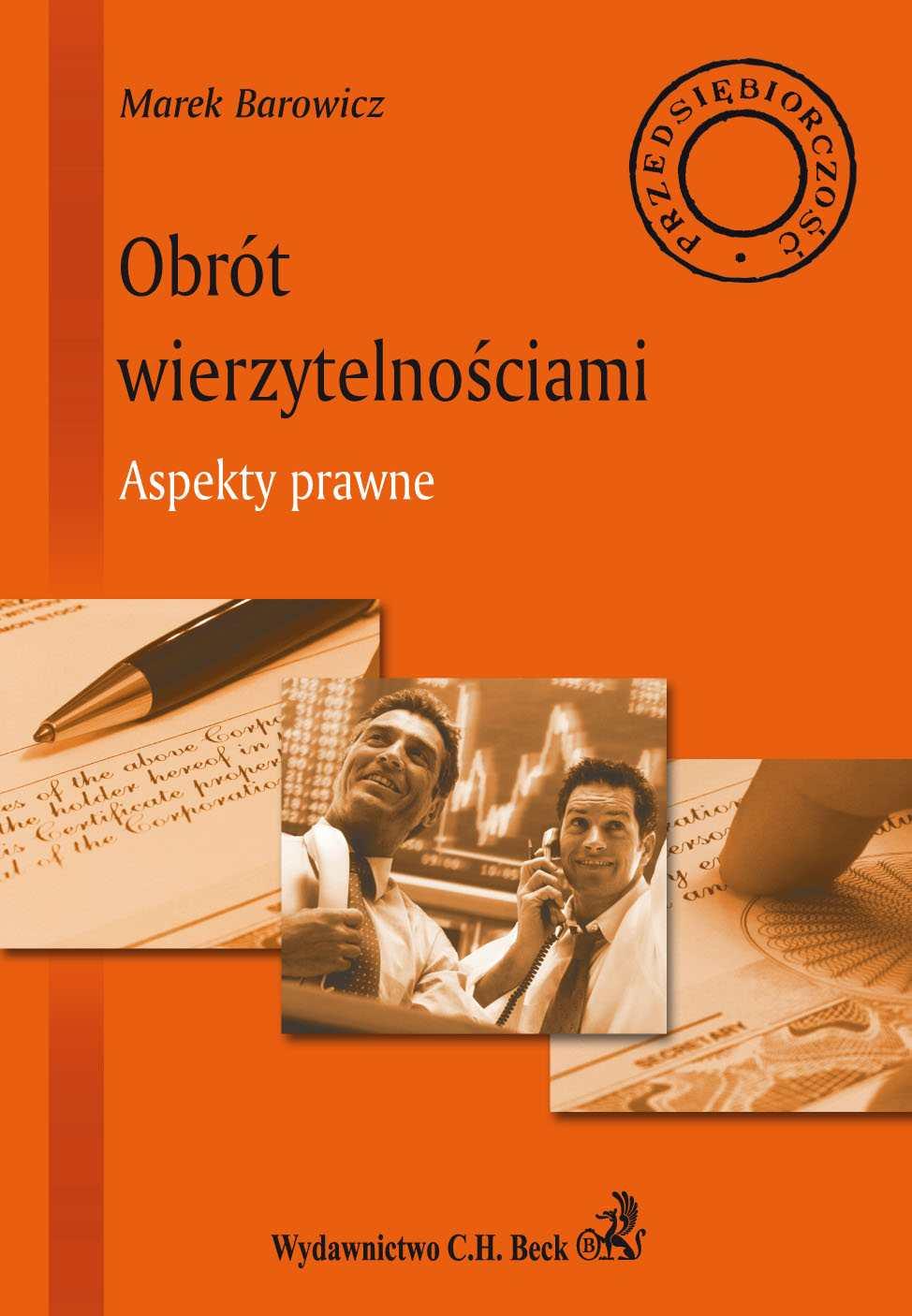 Obrót wierzytelnościami Aspekty prawne - Ebook (Książka PDF) do pobrania w formacie PDF