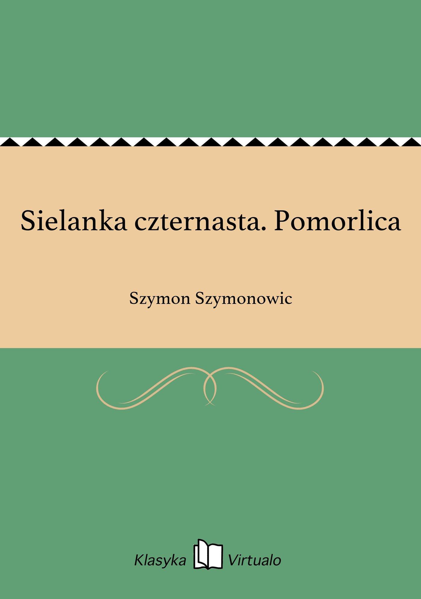 Sielanka czternasta. Pomorlica - Ebook (Książka na Kindle) do pobrania w formacie MOBI