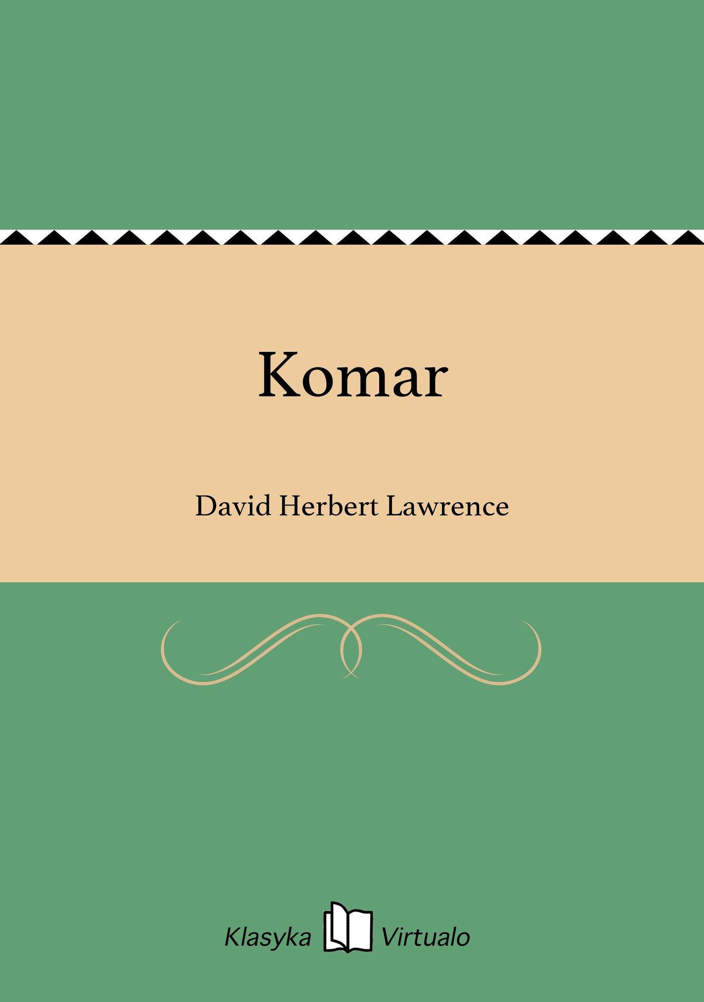 Komar - Ebook (Książka na Kindle) do pobrania w formacie MOBI