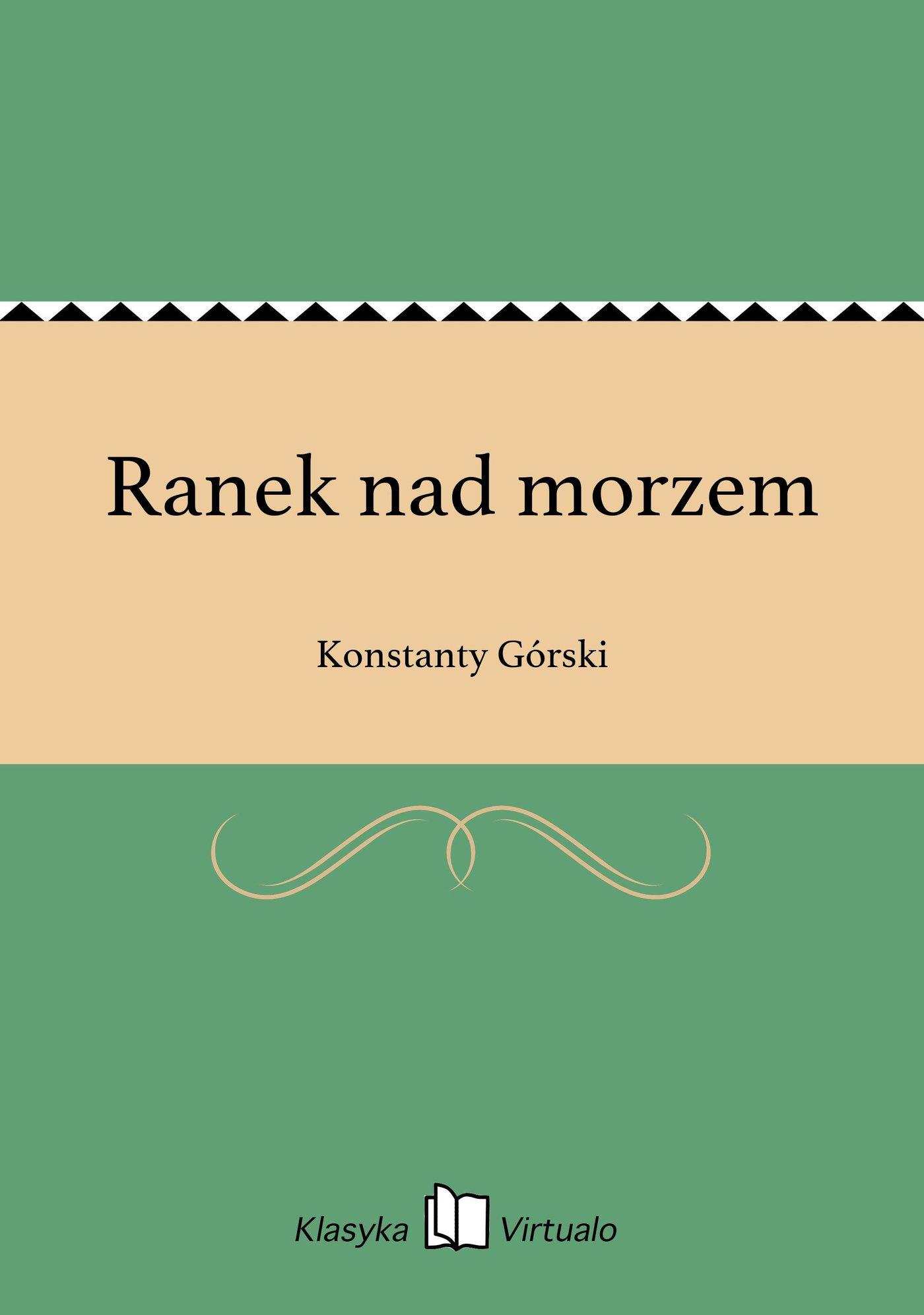 Ranek nad morzem - Ebook (Książka na Kindle) do pobrania w formacie MOBI