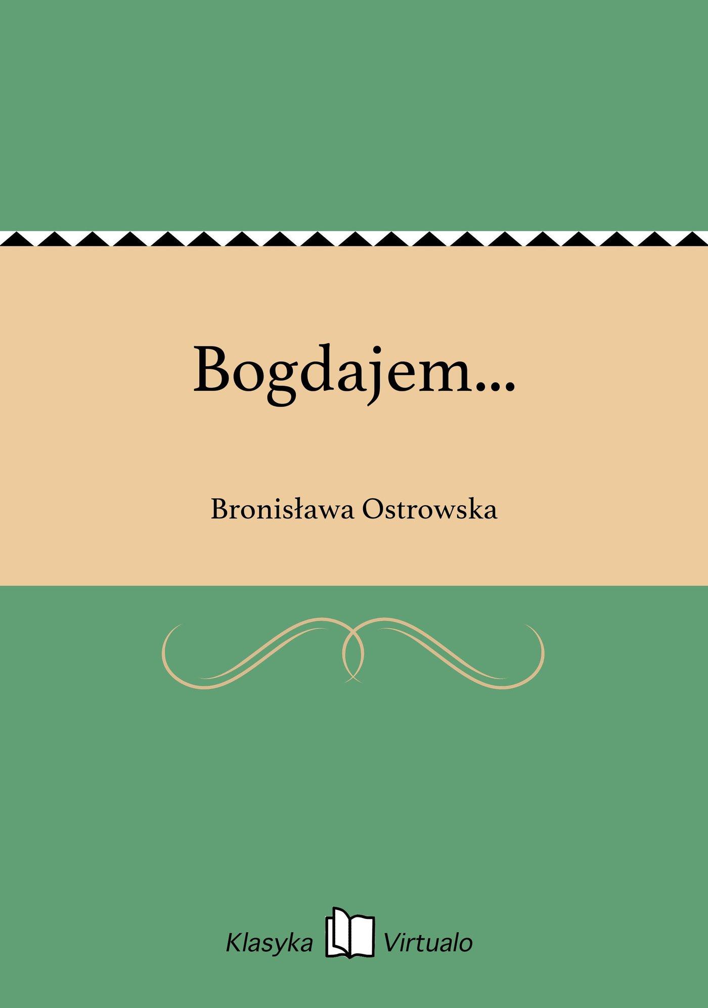 Bogdajem... - Ebook (Książka na Kindle) do pobrania w formacie MOBI