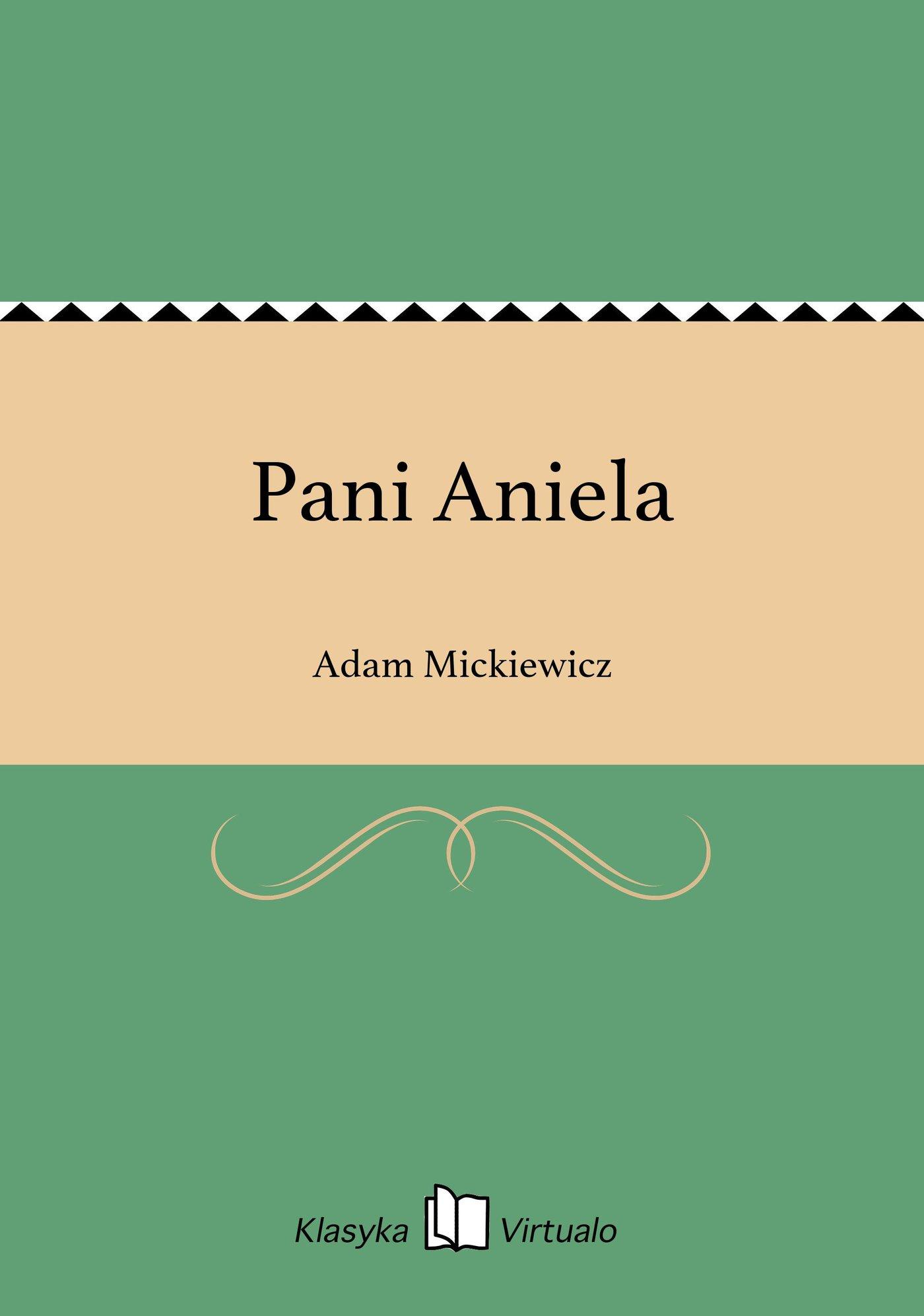 Pani Aniela - Ebook (Książka na Kindle) do pobrania w formacie MOBI