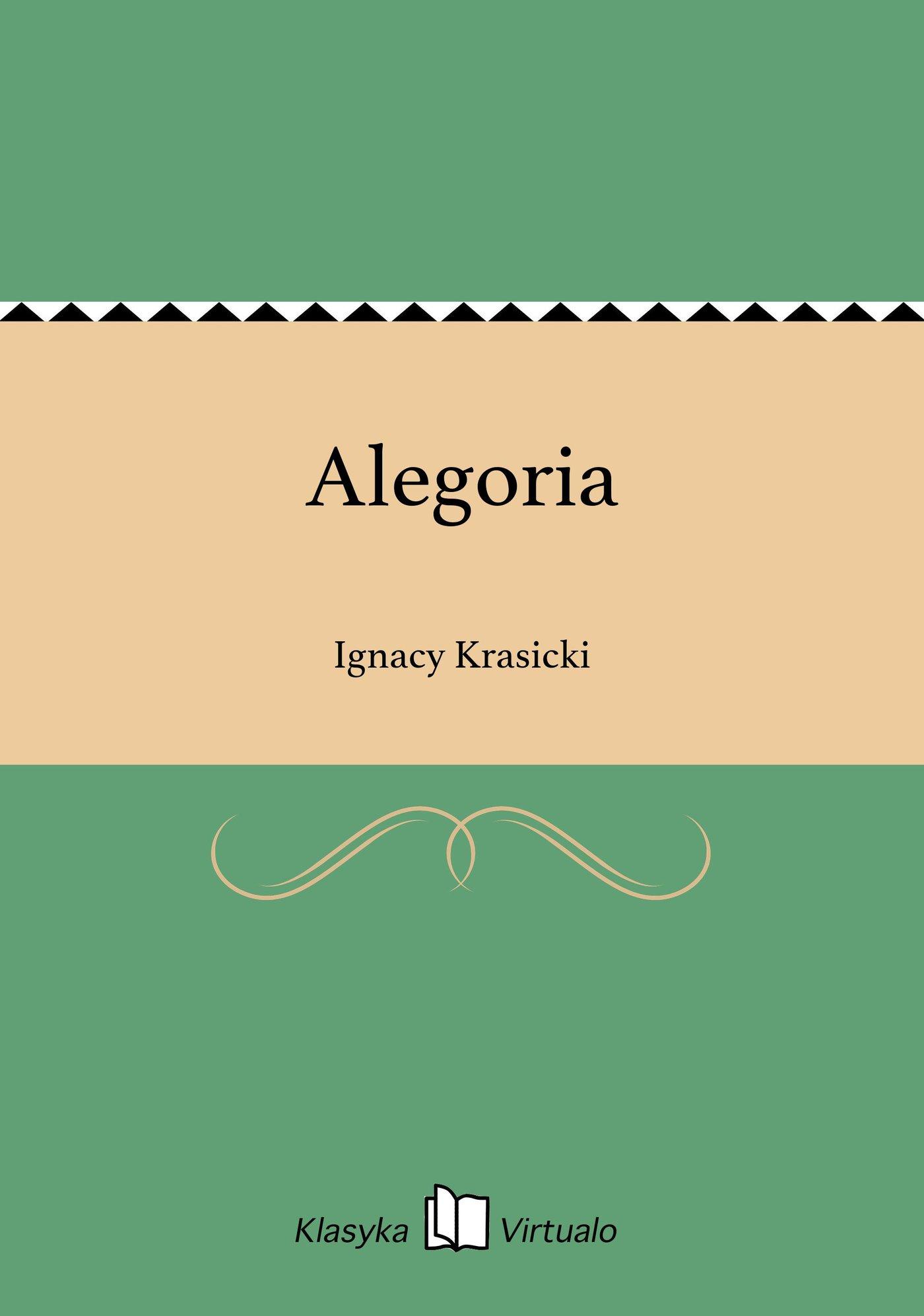 Alegoria - Ebook (Książka na Kindle) do pobrania w formacie MOBI